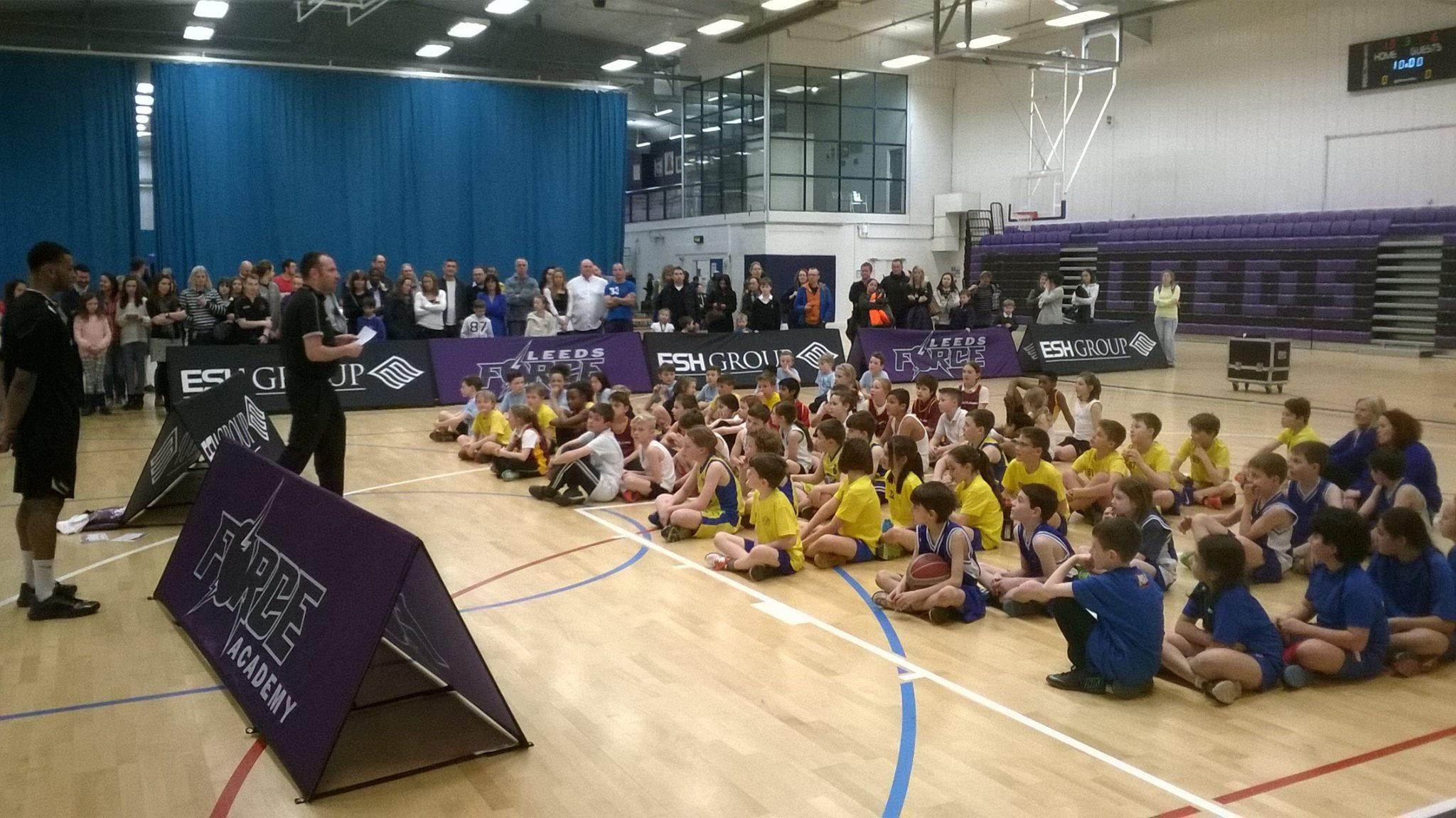 Leeds North West Basketball Y4 5 Finals 2014-15