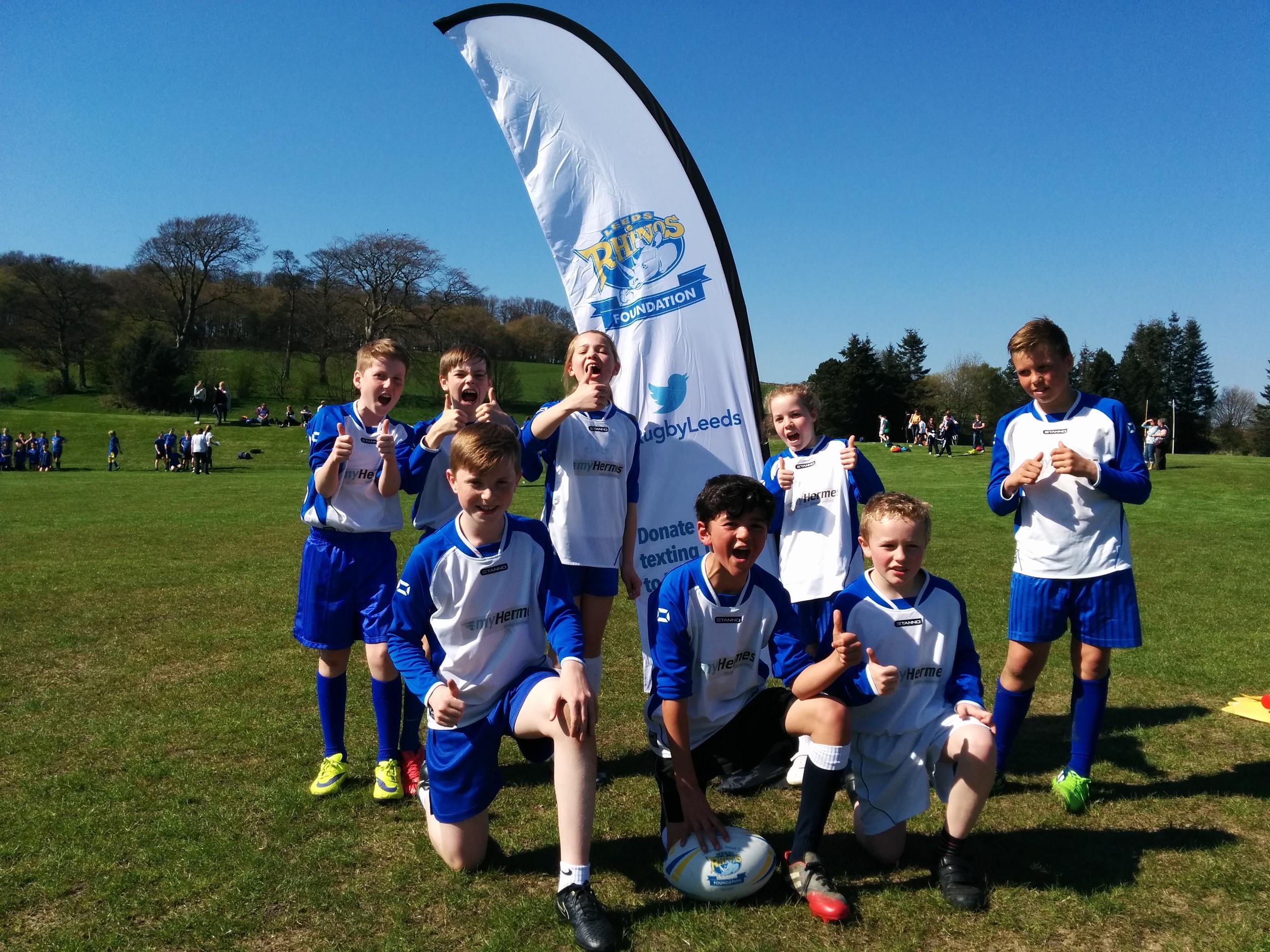 St Mary's, Horsforth Winning Team!