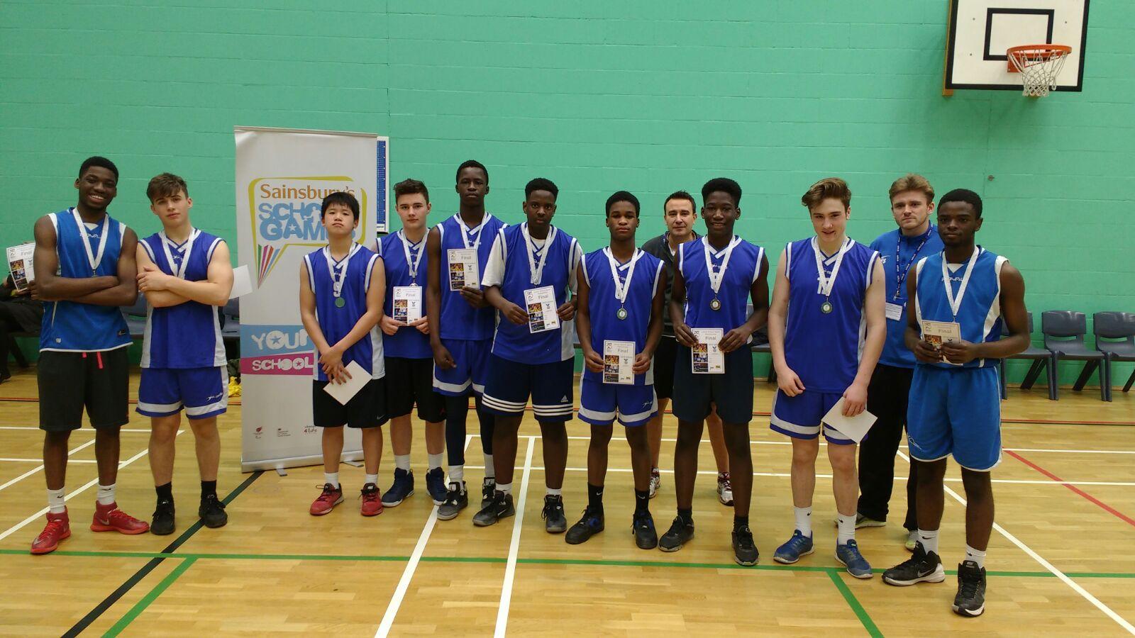 Abbey Grange U16s: Leeds Final 2nd place Feb 16.