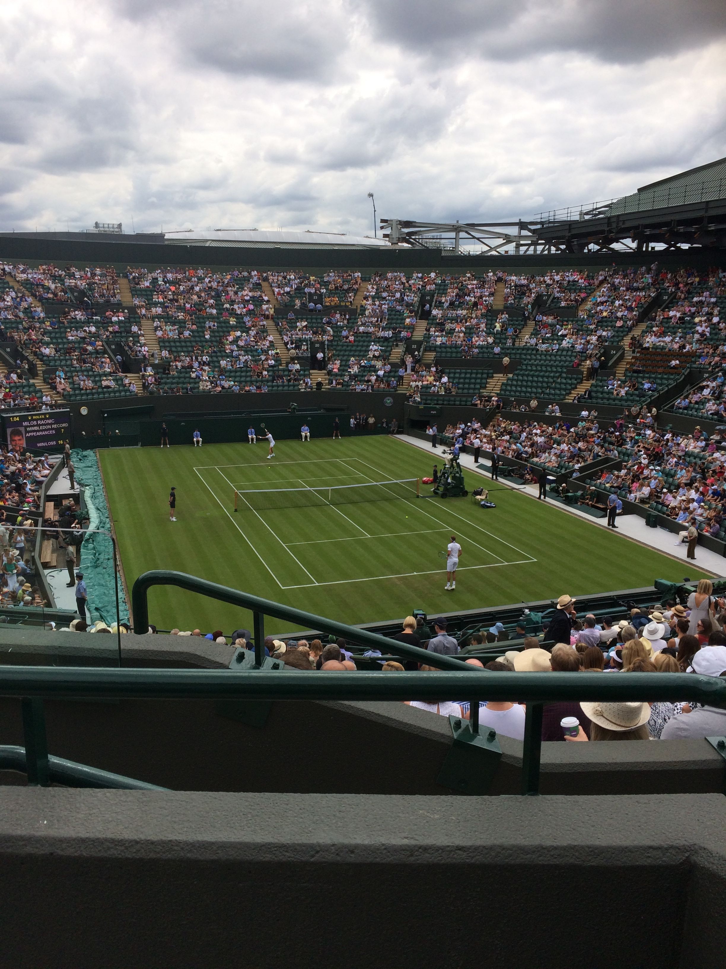 Wimbledon Reward Trip for our Y10/11 Sports Leaders.