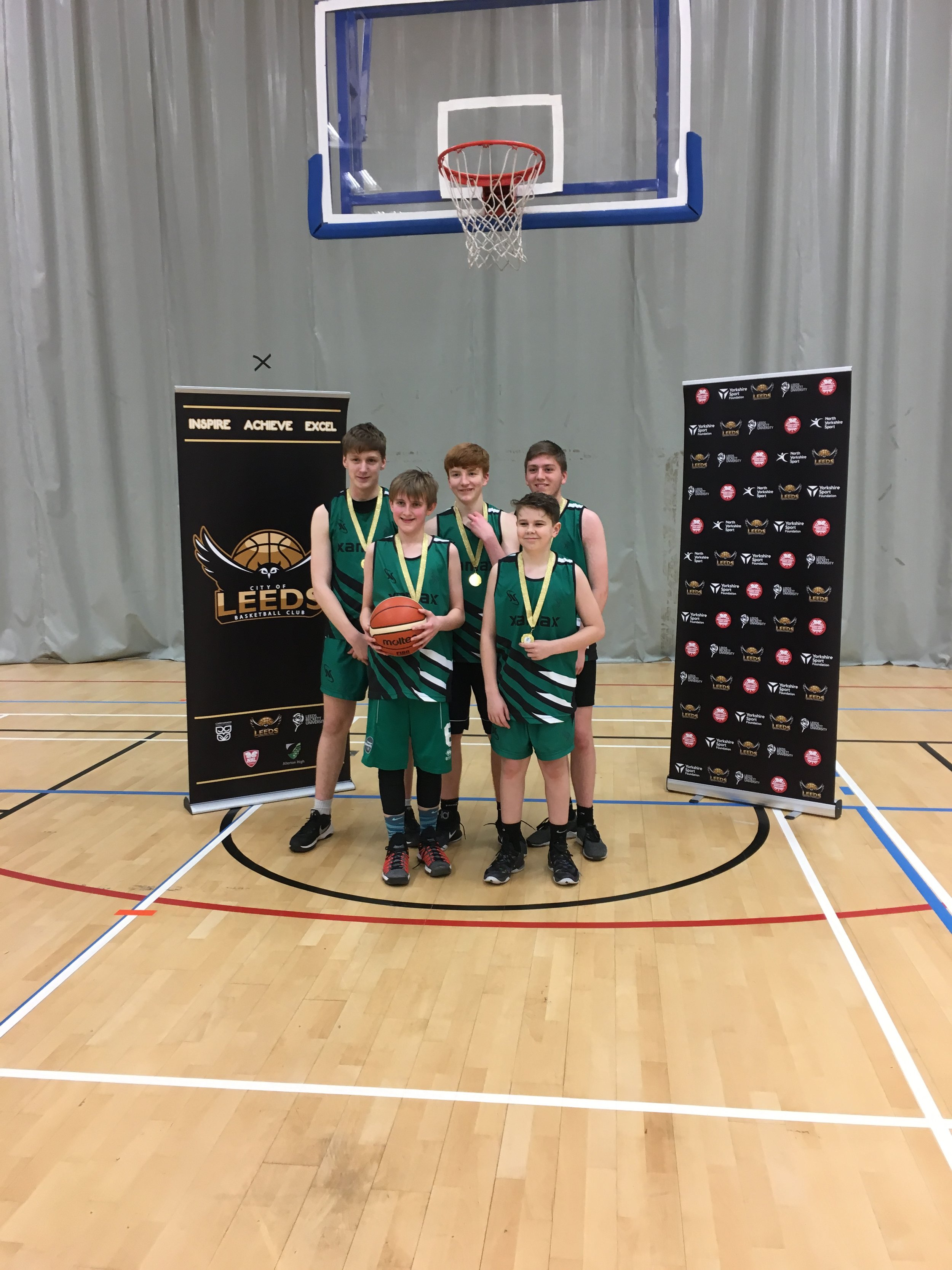 Horsforth U16 Winners 2018