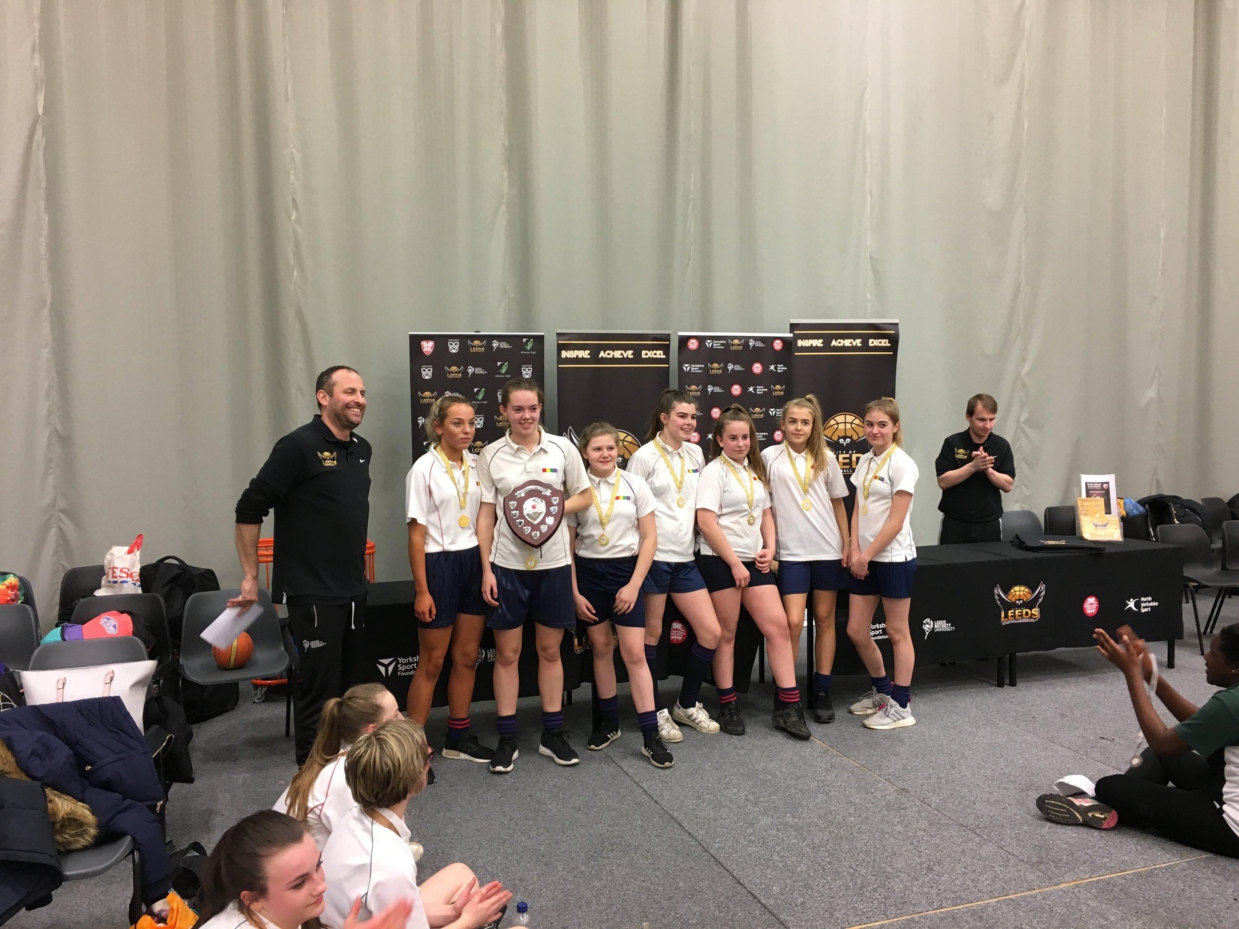 Morley Academy - 1st place Leeds Girls U14 Final 2018.