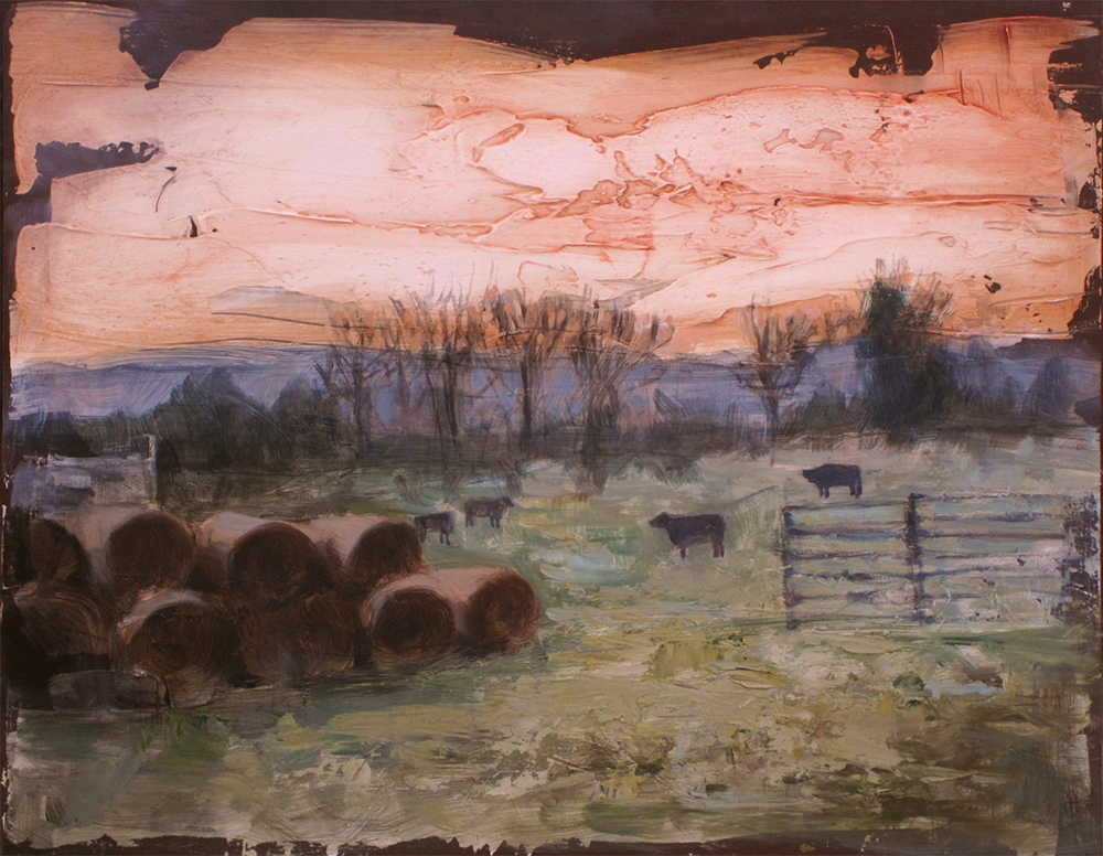 Audrey Bialke's   Good Life Farm  and other real life inspired paintings alongside pen and ink notecards. Contact:  audreybialke@gmail.com