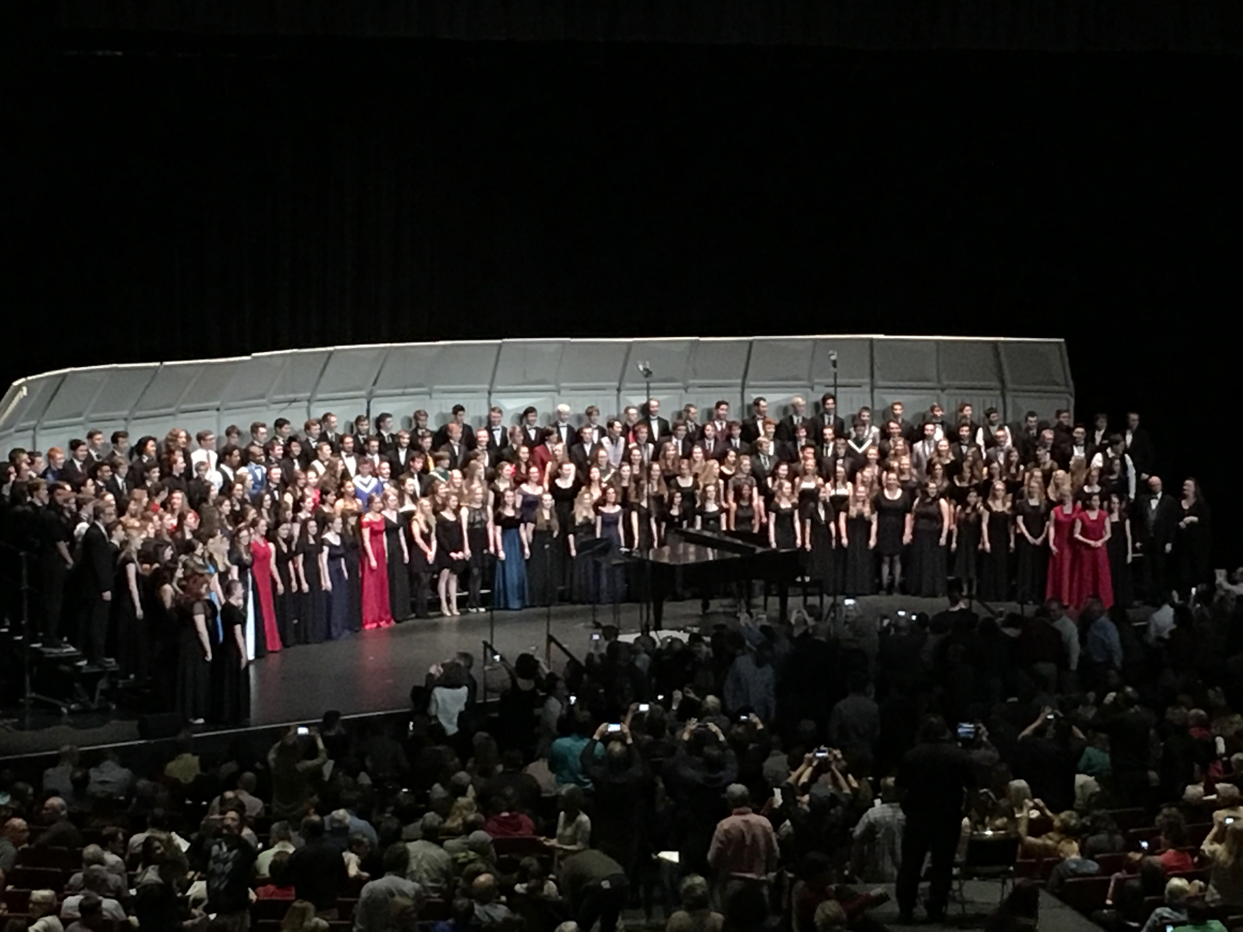 All State Choir - Ralston Valley Choirs have had over 60 students selected to Colorado All State Choir since opening.
