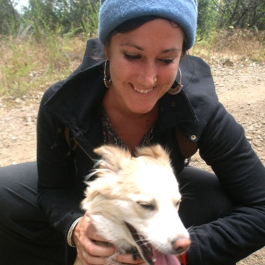 Kristen doggy lama dog walker and pet sitter