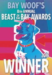 Beast of the Bay best dog walker 2016