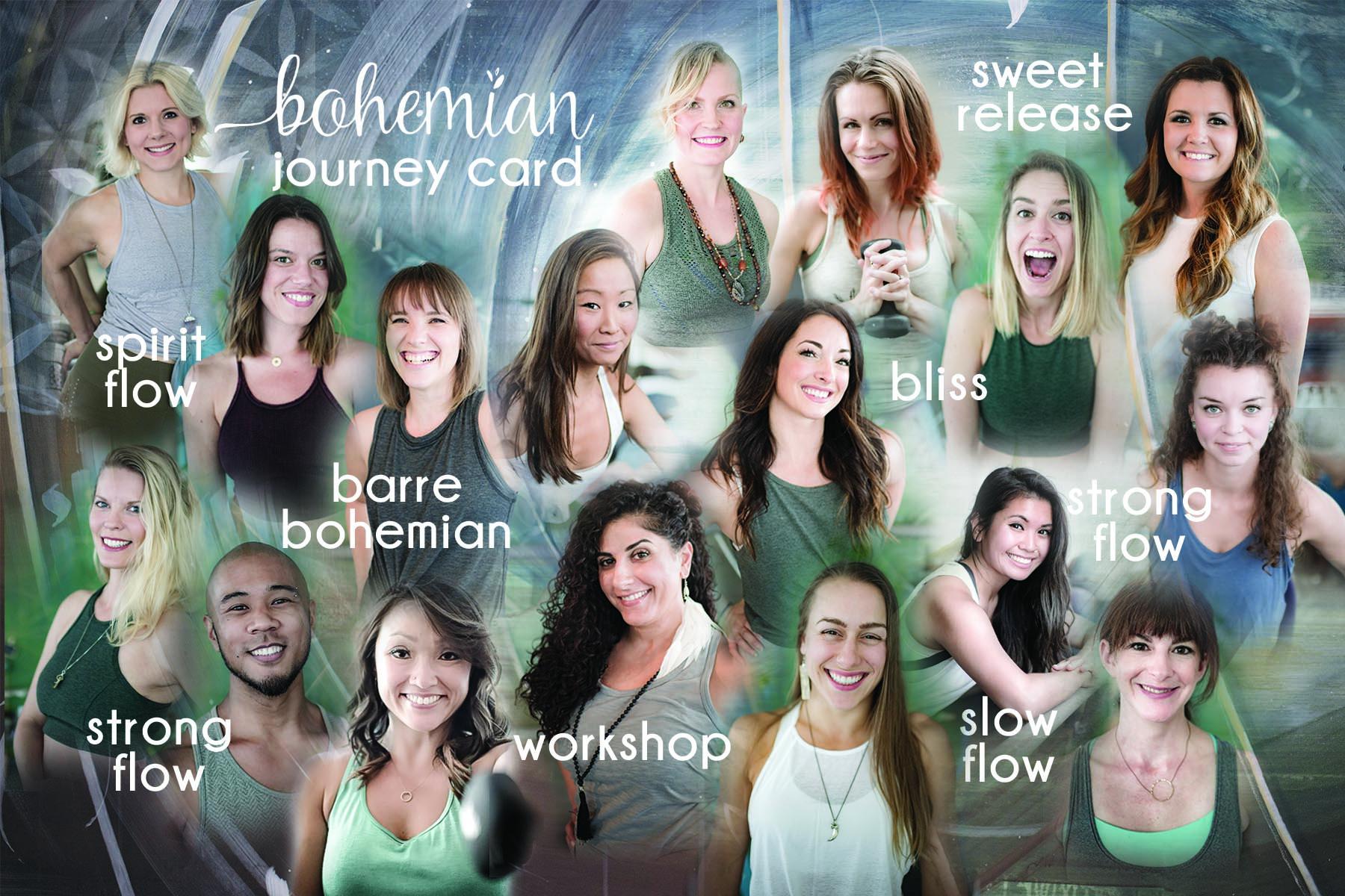 The Journey Card Bohemian Studios Best Yoga and Barre Studio Seattle Phinney Ridge West Seattle