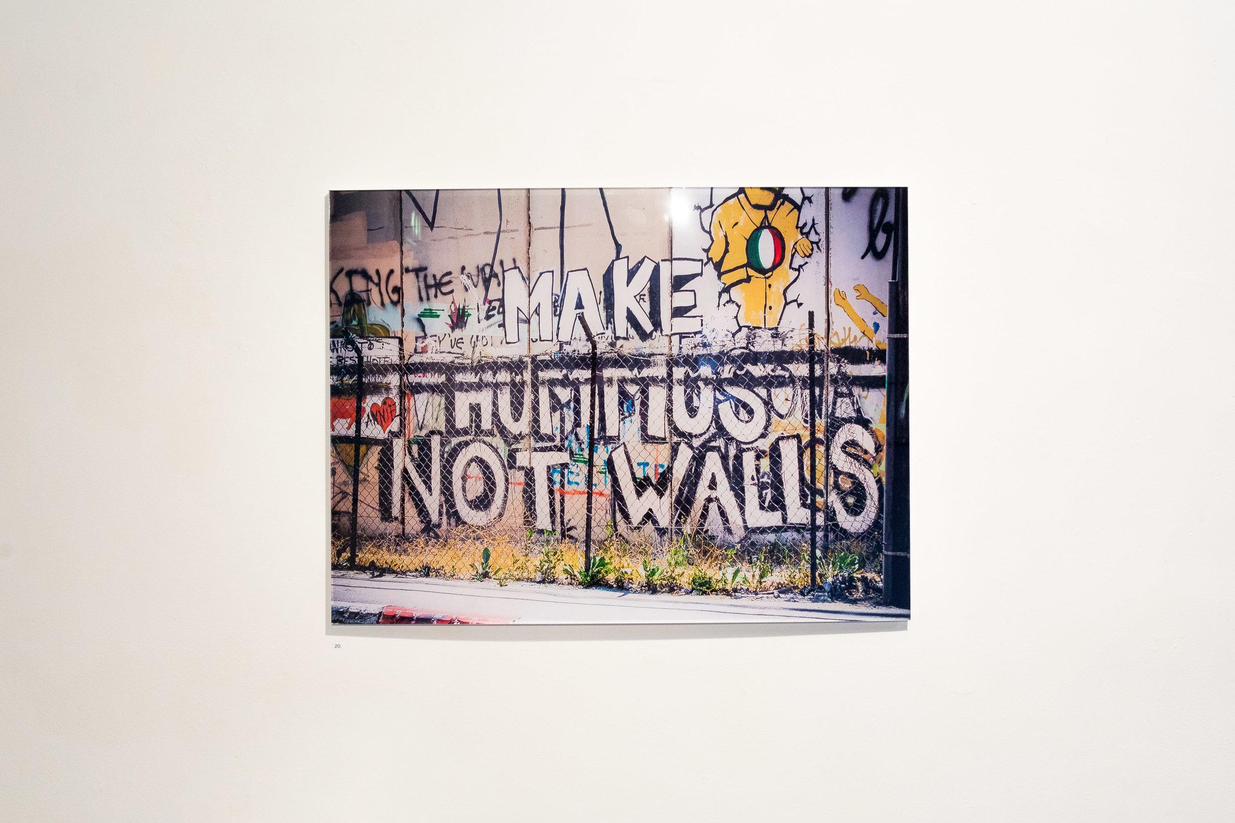 Make Hummus Not Walls, 2017