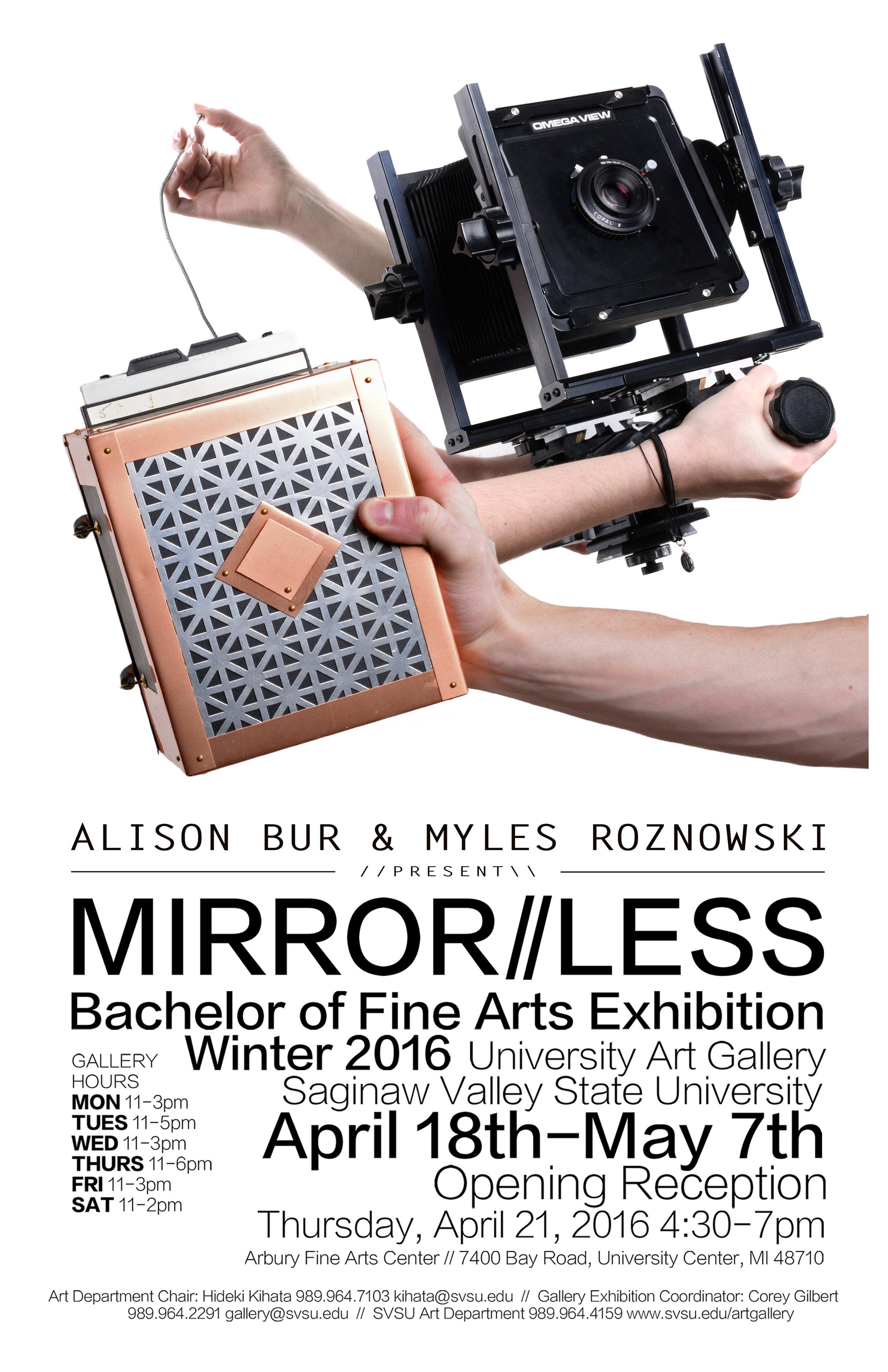 Mirrorless Exhibition Large Poster