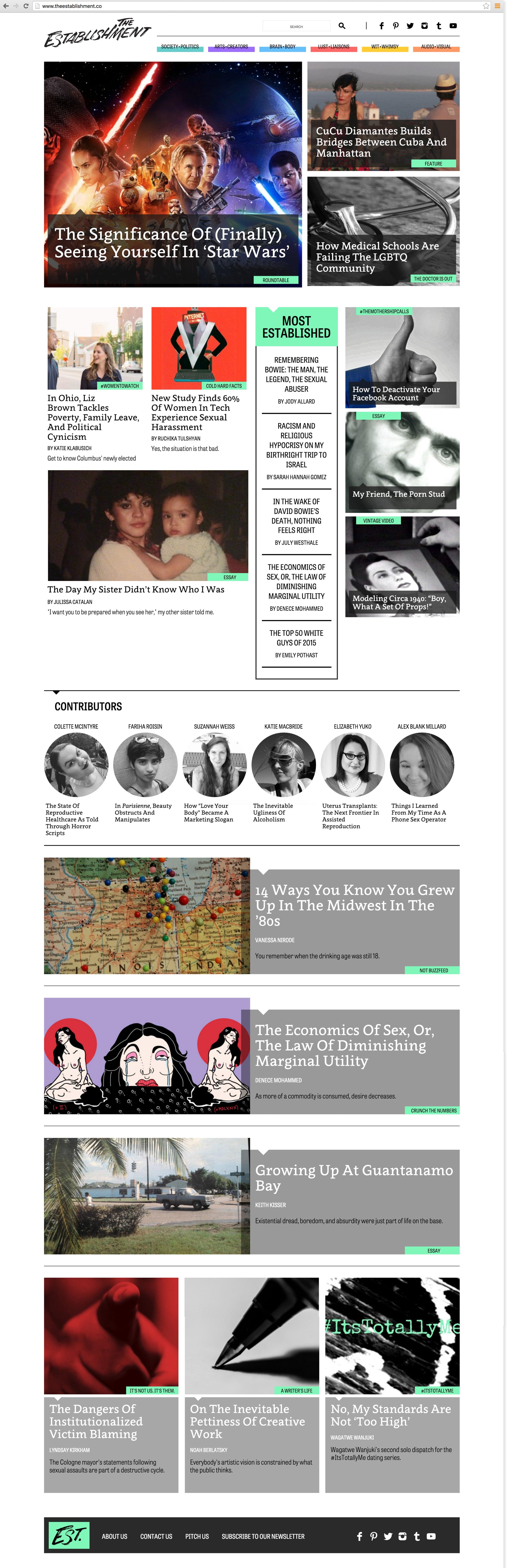 PDA_studio_The_Establishment_Home_Page