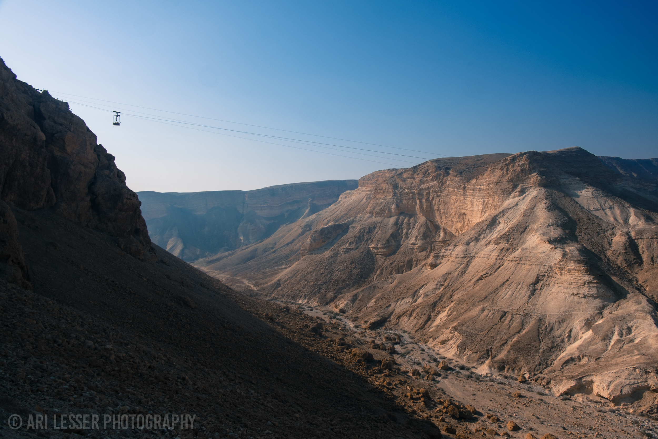 We are hiking up Masada - the site of an ancient mass suicide to avoid being captured by the Romans.