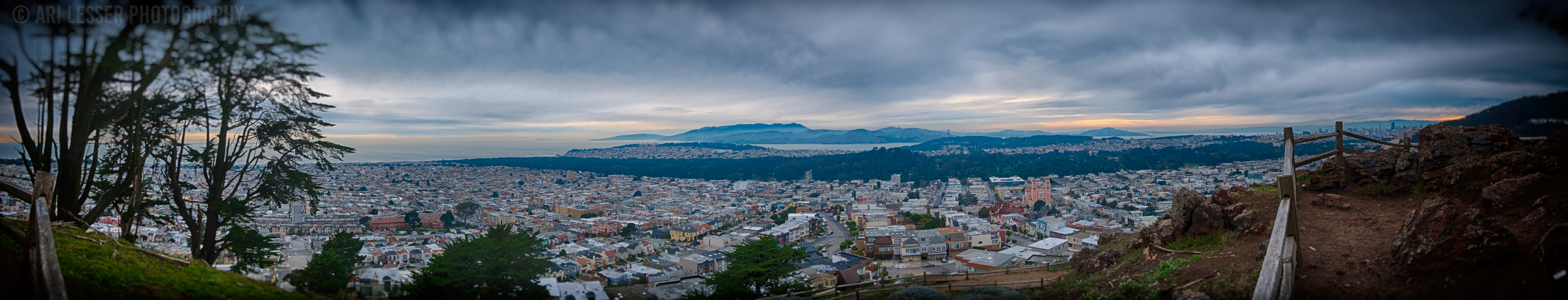 San Francisco Panoramic Shot