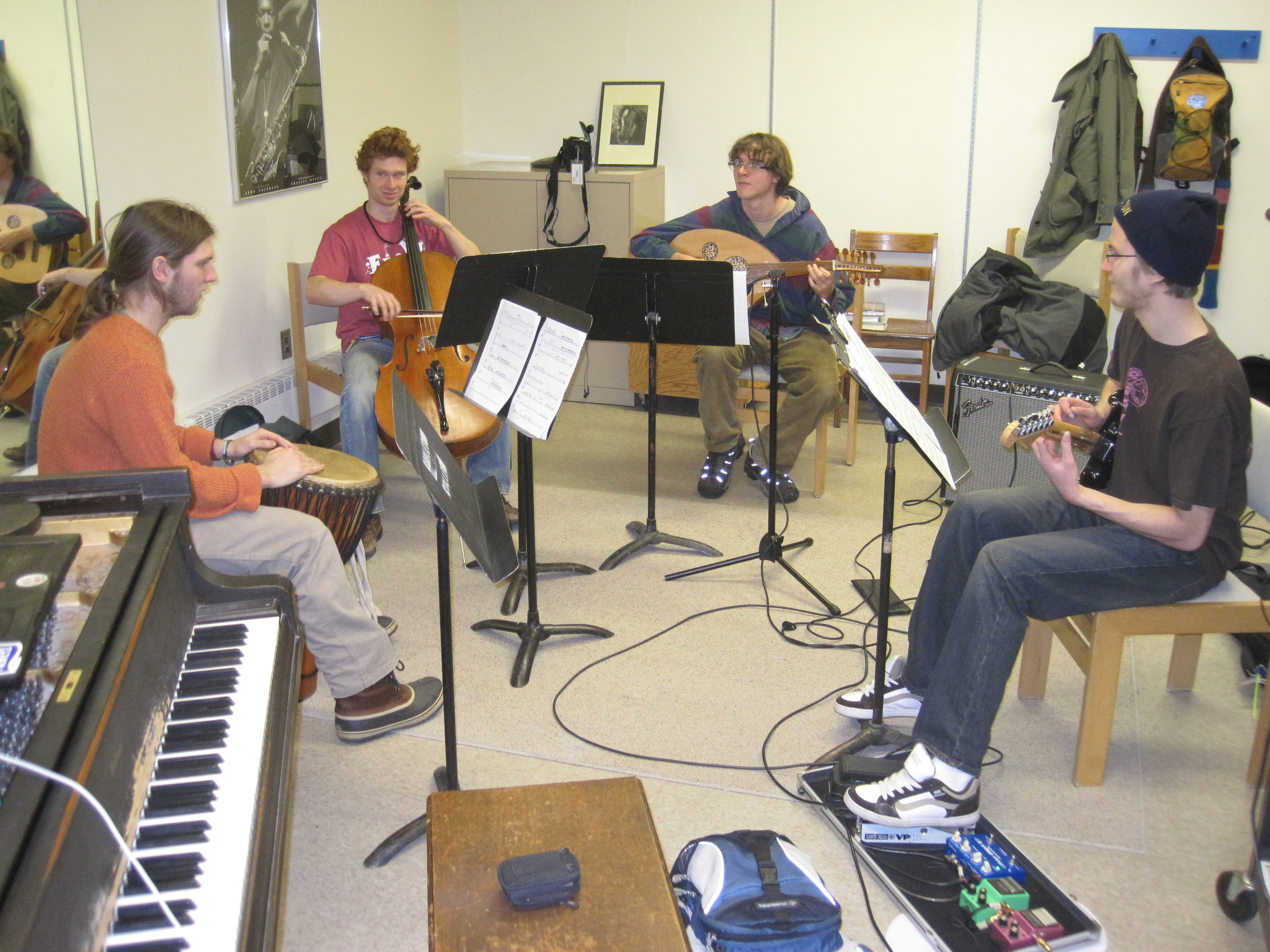 Gilgamesh rehearsal