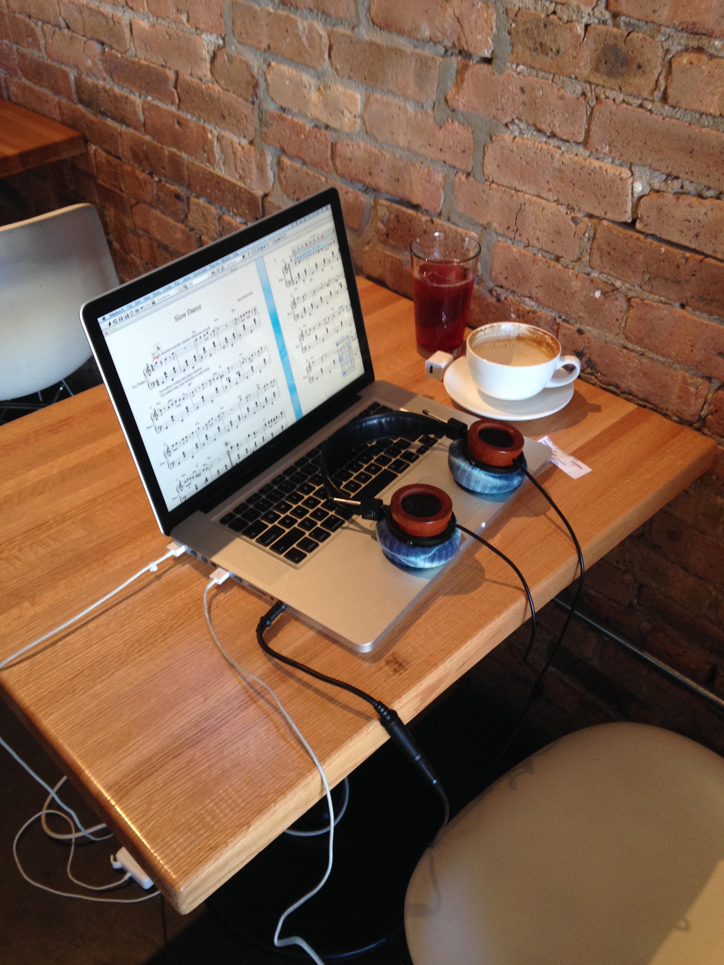 Coffee shop setup