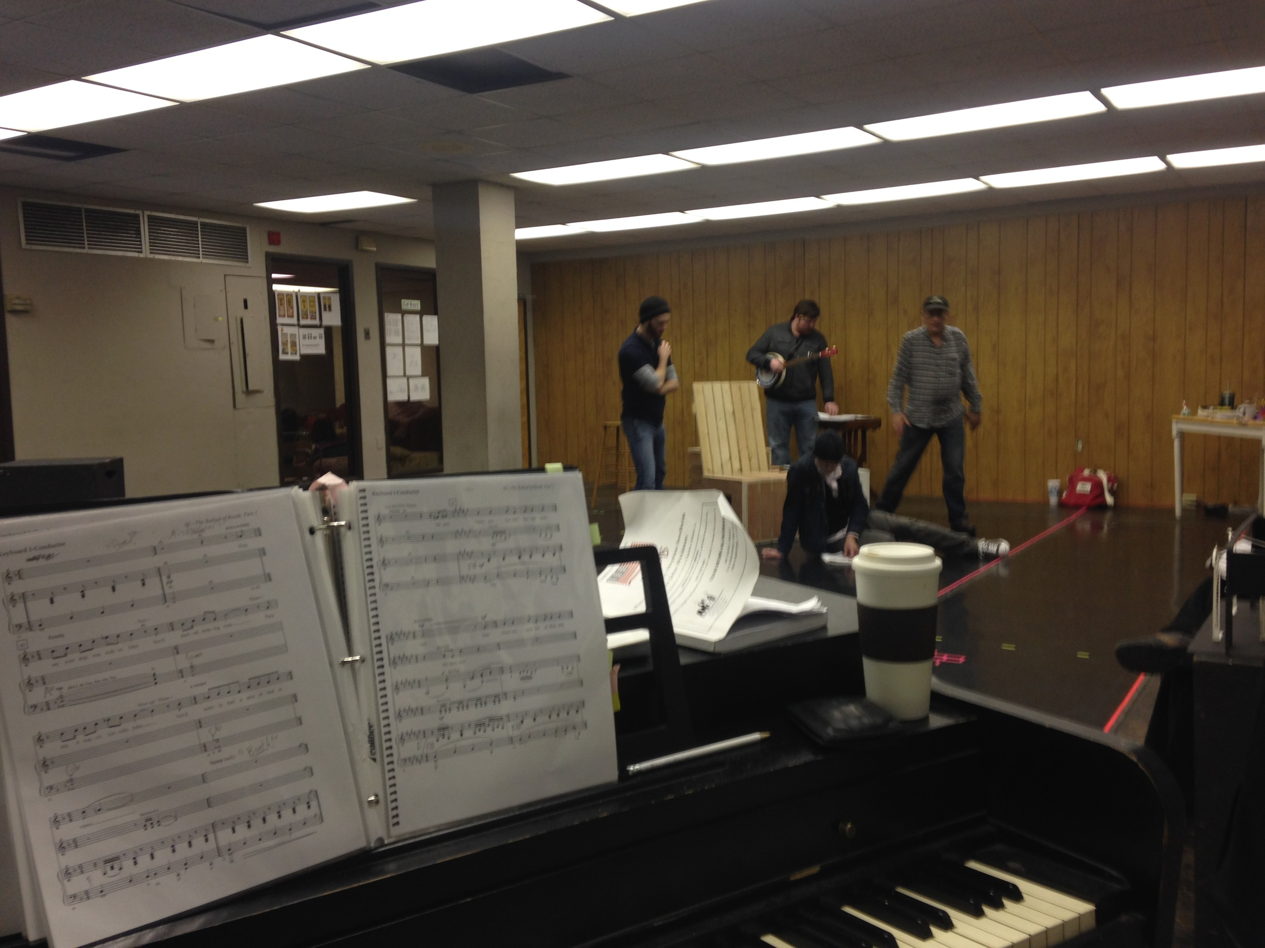 Rehearsal battle station, Assassins