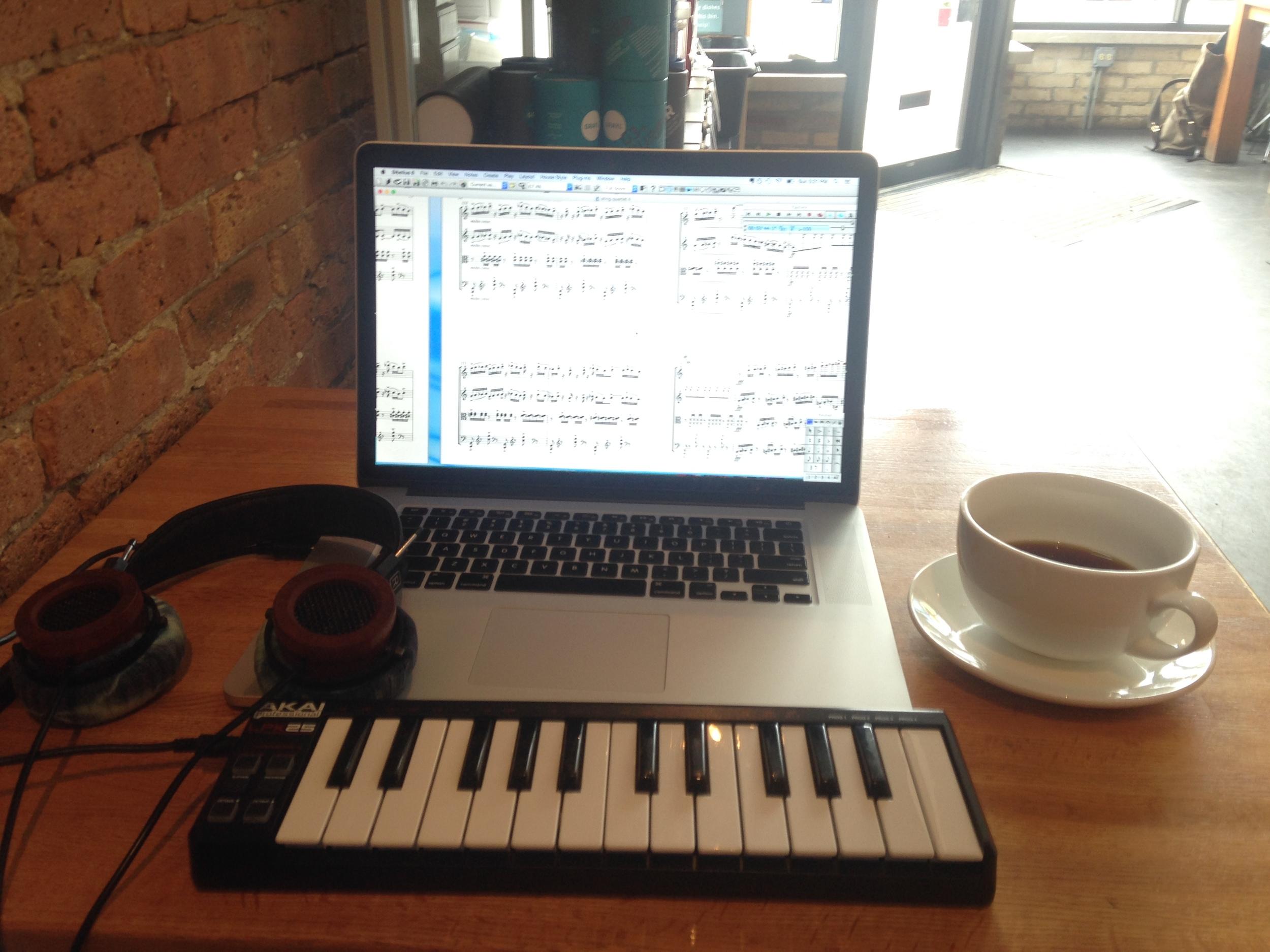 Coffeeshop setup