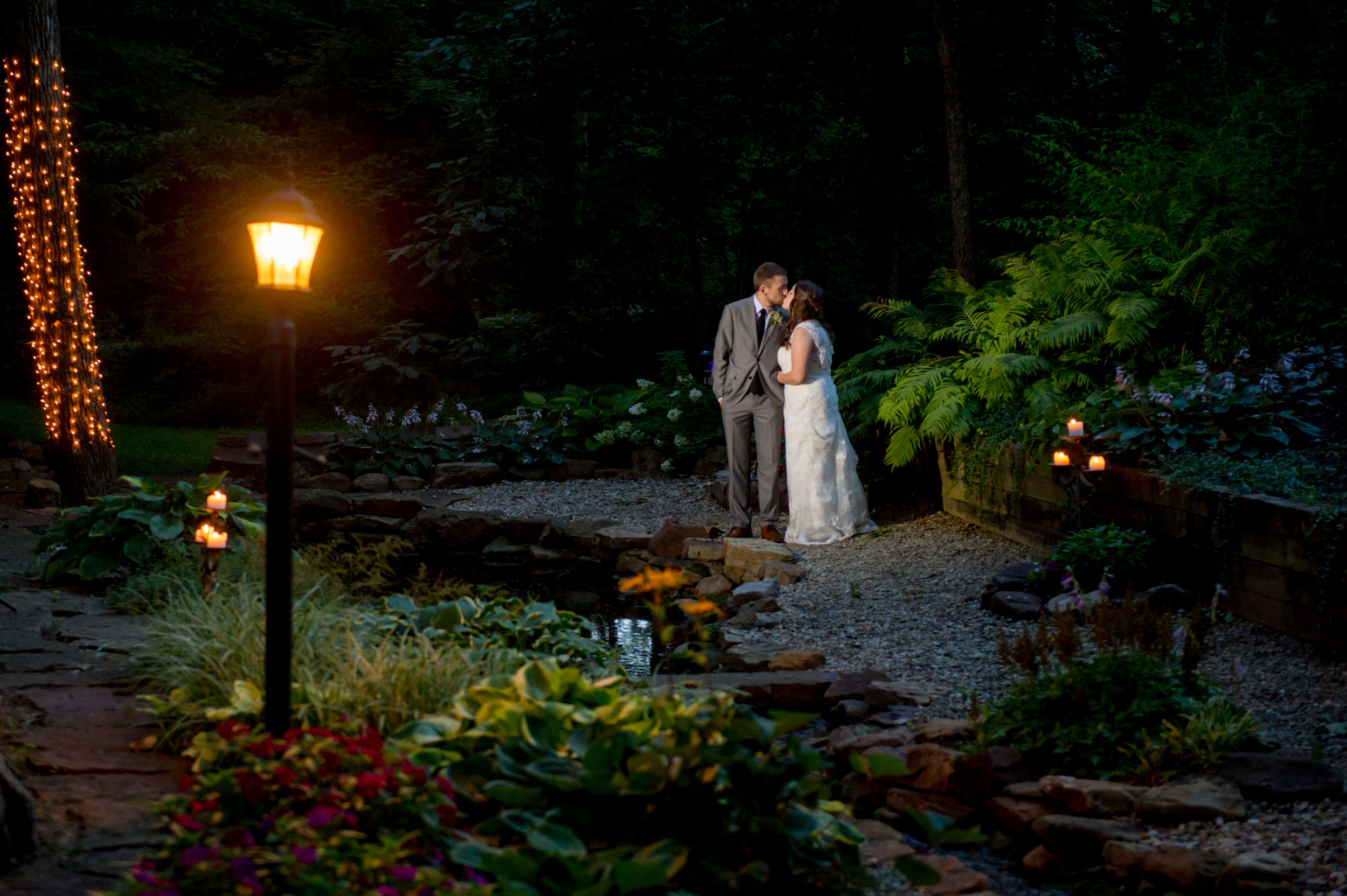 Avon Gardens by candlelight