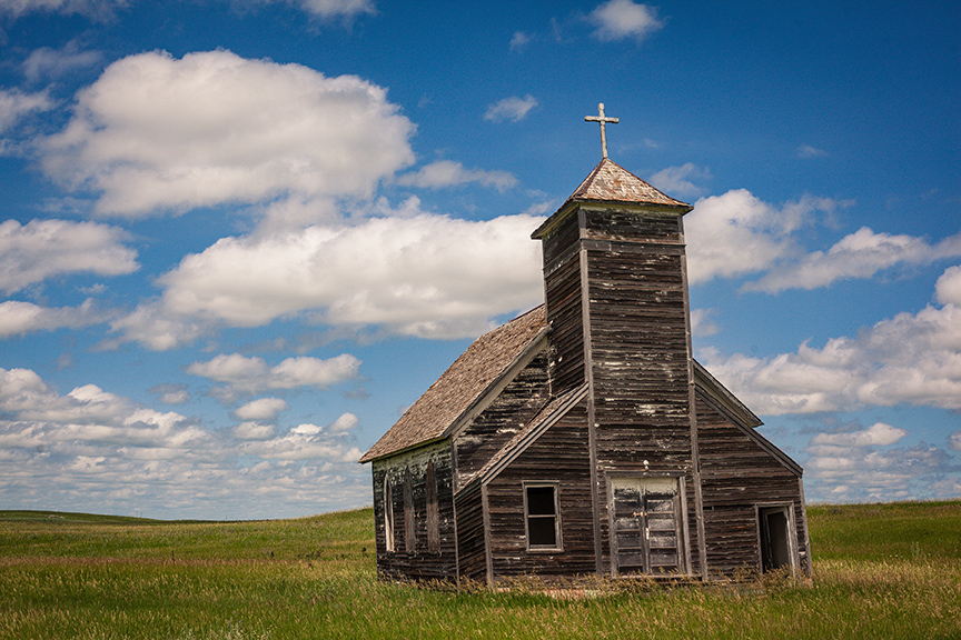Church in Field (1 of 1) Small.jpg