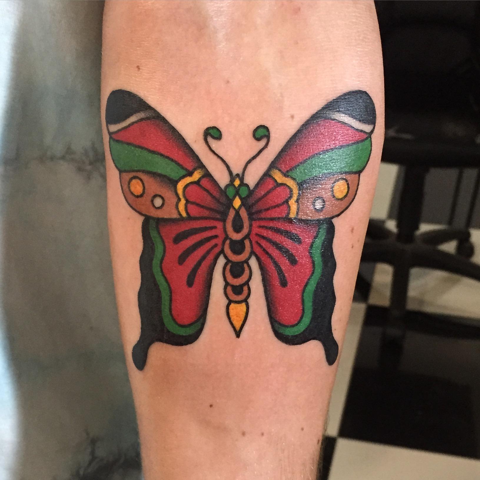 Beau Newman tattoo artist