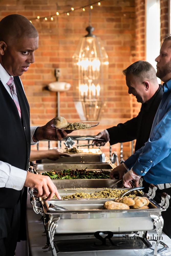 Wedding Reception Buffet at 105 Worth Asheboro North Carolina