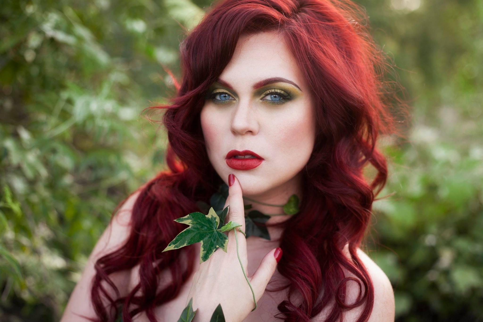 Poison Ivy Cosplay - April 2016/MUA: Kim Cook Beauty/Photo: Katelyn Elizabeth Photo.
