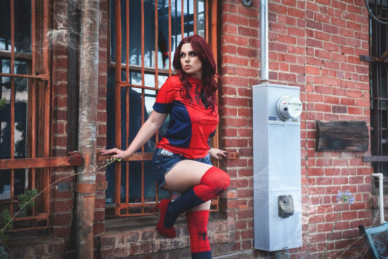 Mary Jane Watson/Spider-Girl Cosplay - May 2016 // MUAH: Kim Cook Beauty