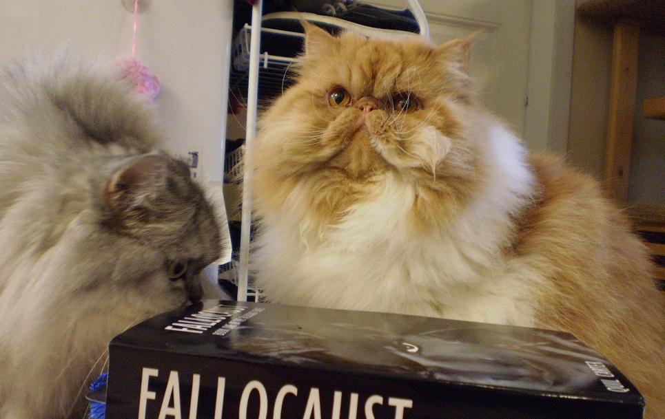 Dezza and The Fallocaust Books.