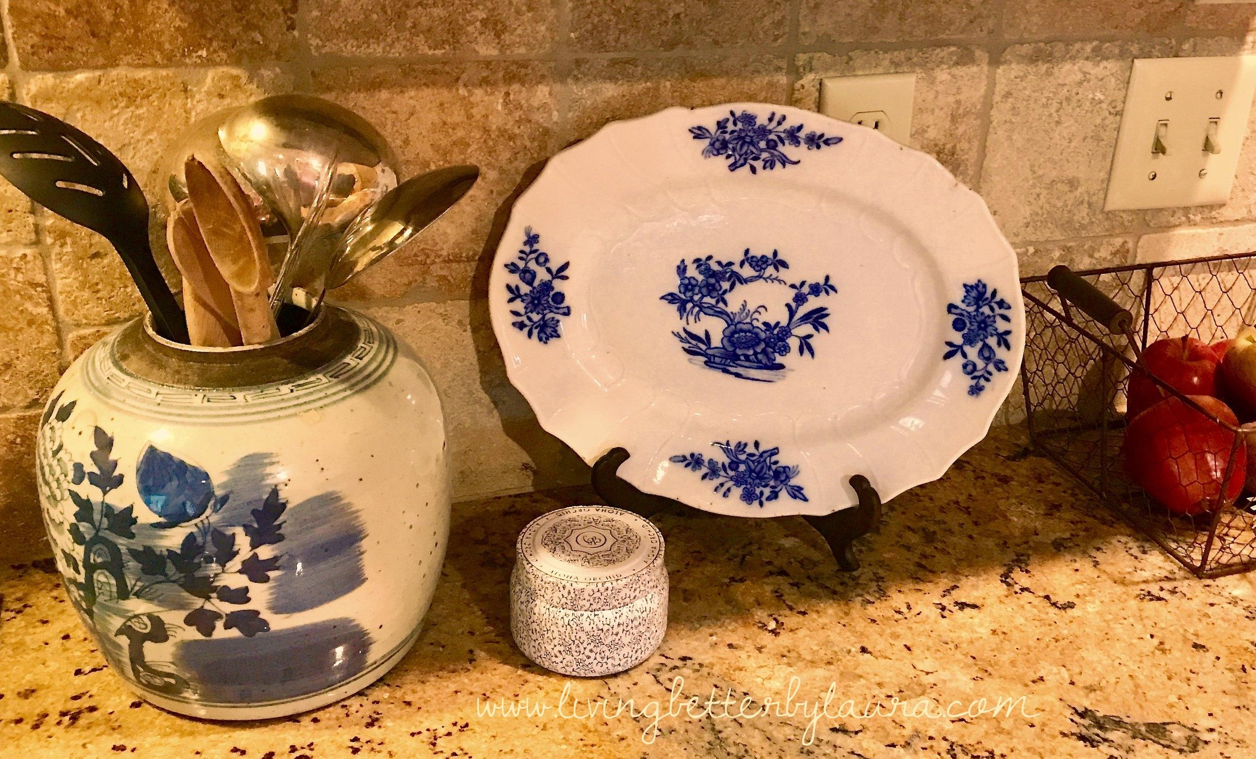 blue and white porcelain-blue-home decor