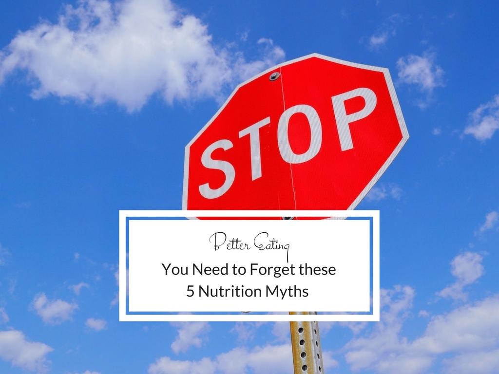 Stop, look and listen, - as we uncover the truths of nutrition (I think i have the beginning of a poem here).