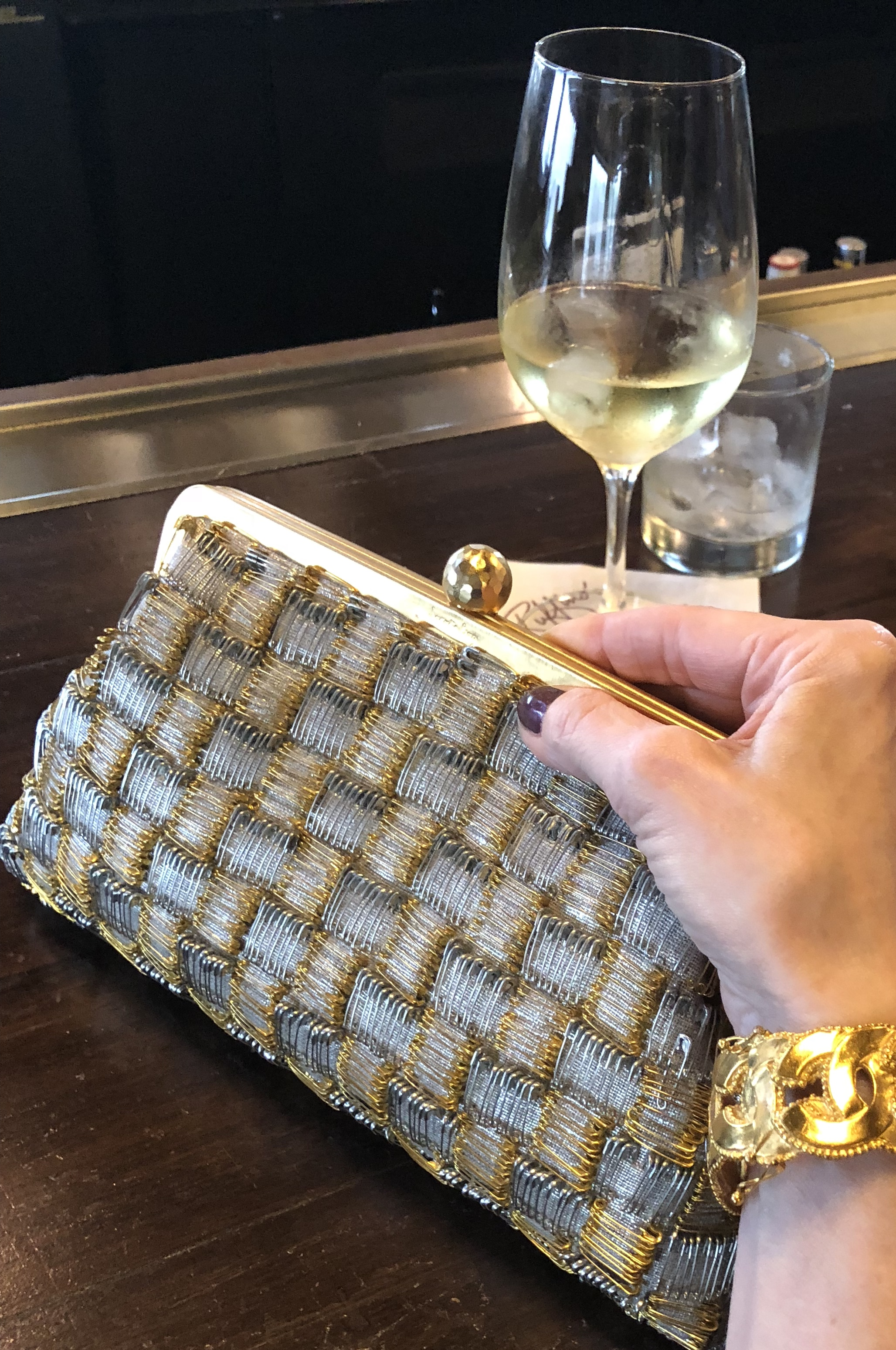 Watch for my post, coming soon... on this amazing handbag and the inspiring story behind it!