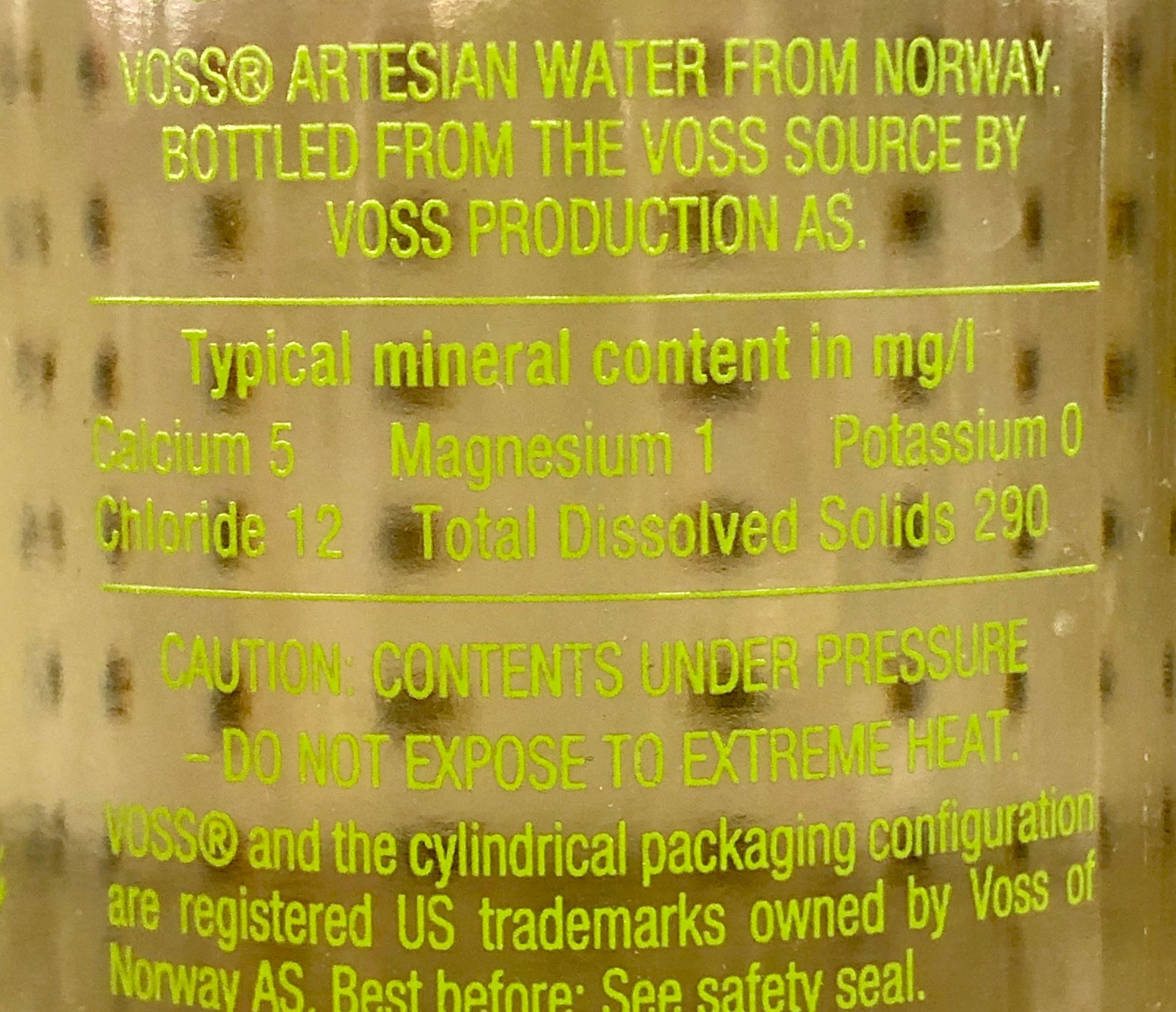 Read the label carefully to explore the mineral content of bottled water