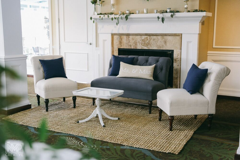 Lounge Furniture by Martha My Dear Rentals, Photography by Neal Petrosky
