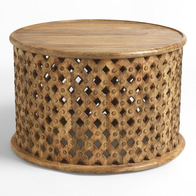 Round Tribal Coffee Table (2)