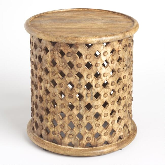 Tribal End Tables (4)