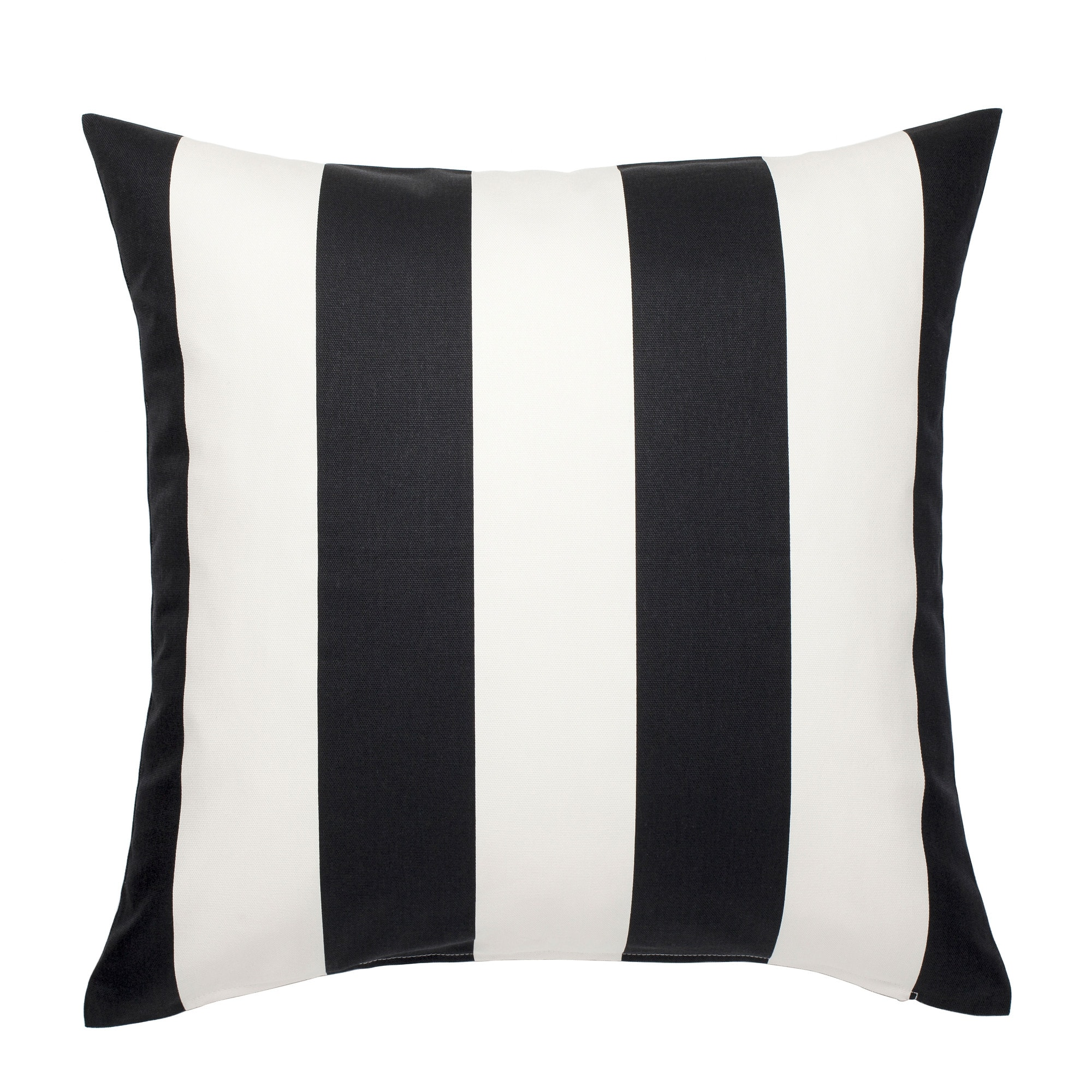 Black & White Striped Pillow (2)