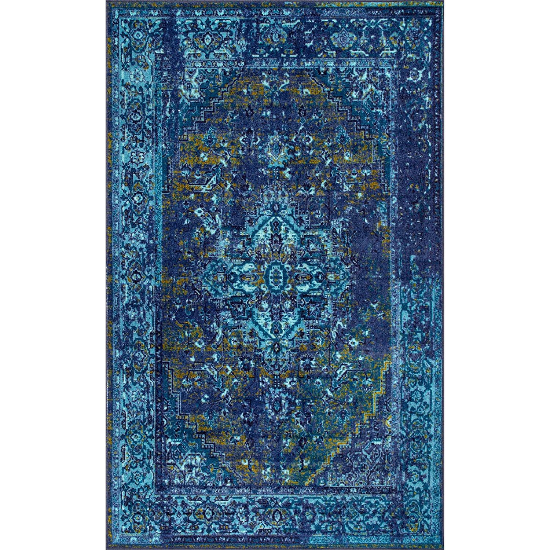 Blue Boho Rug   5x7