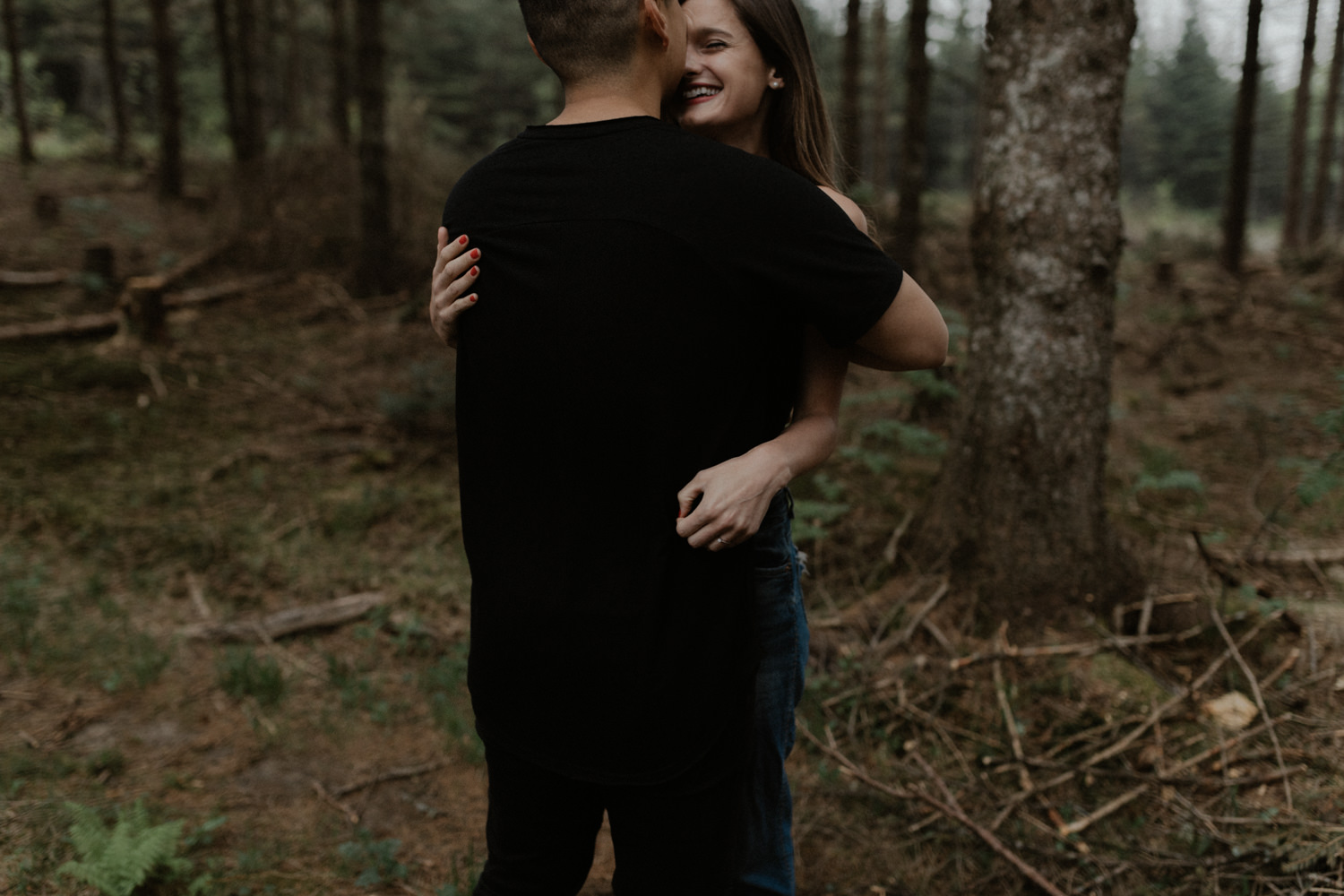 Ariane Marc-Antoine Engagement Iceland Wedding Mariage Quebec Nature Forest Foret Yanick Lesperance (2 of 73).jpg