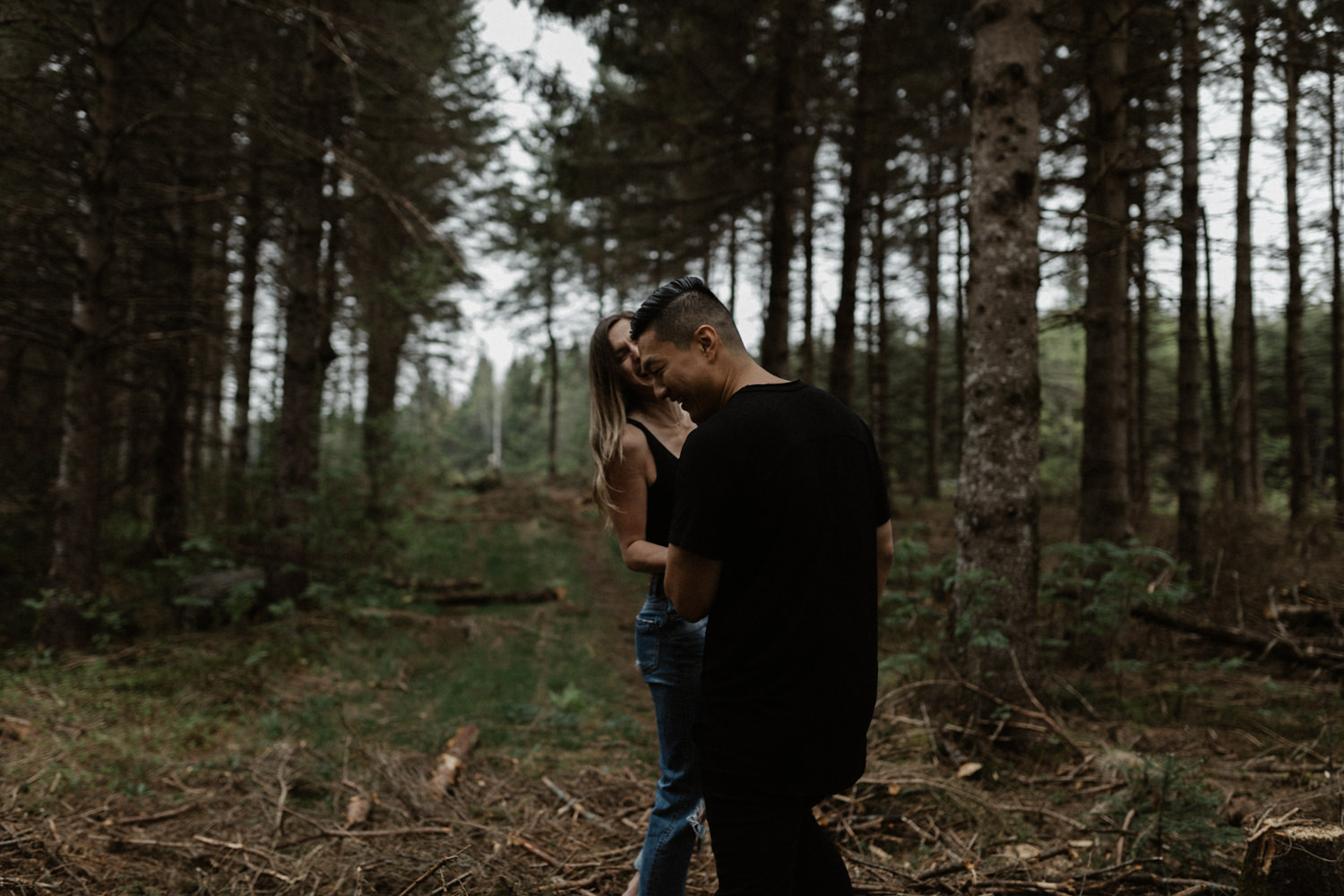 Ariane Marc-Antoine Engagement Iceland Wedding Mariage Quebec Nature Forest Foret Yanick Lesperance (20 of 73).jpg