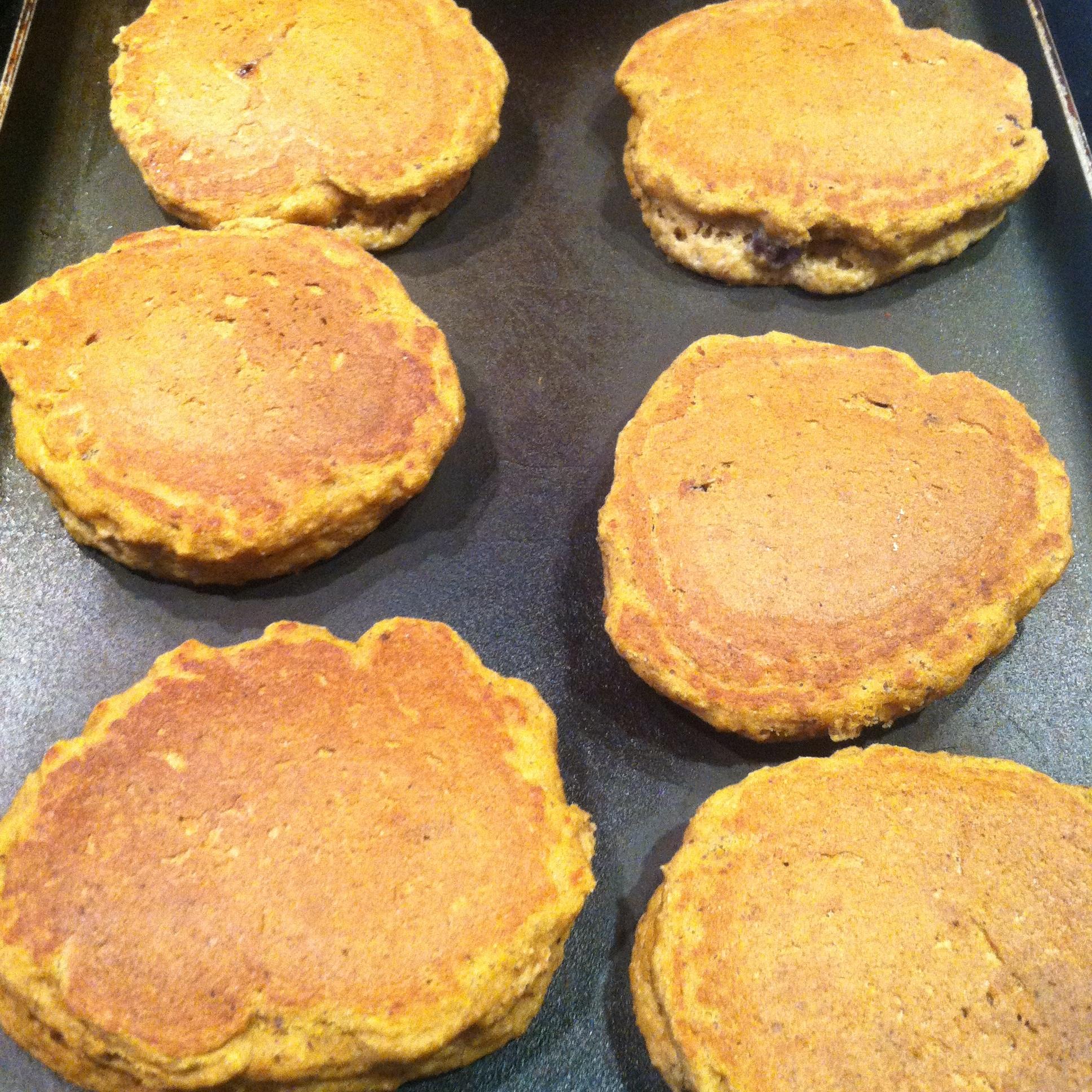 Pumpkin Pancakes Griddle 6.JPG