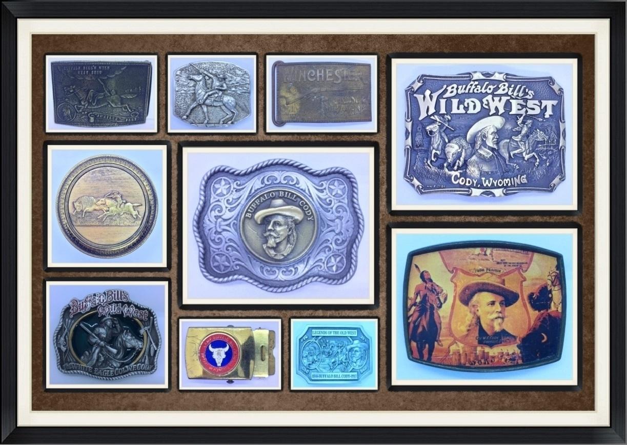 Western/Cowboy Apparel Accessory, Belt Buckles