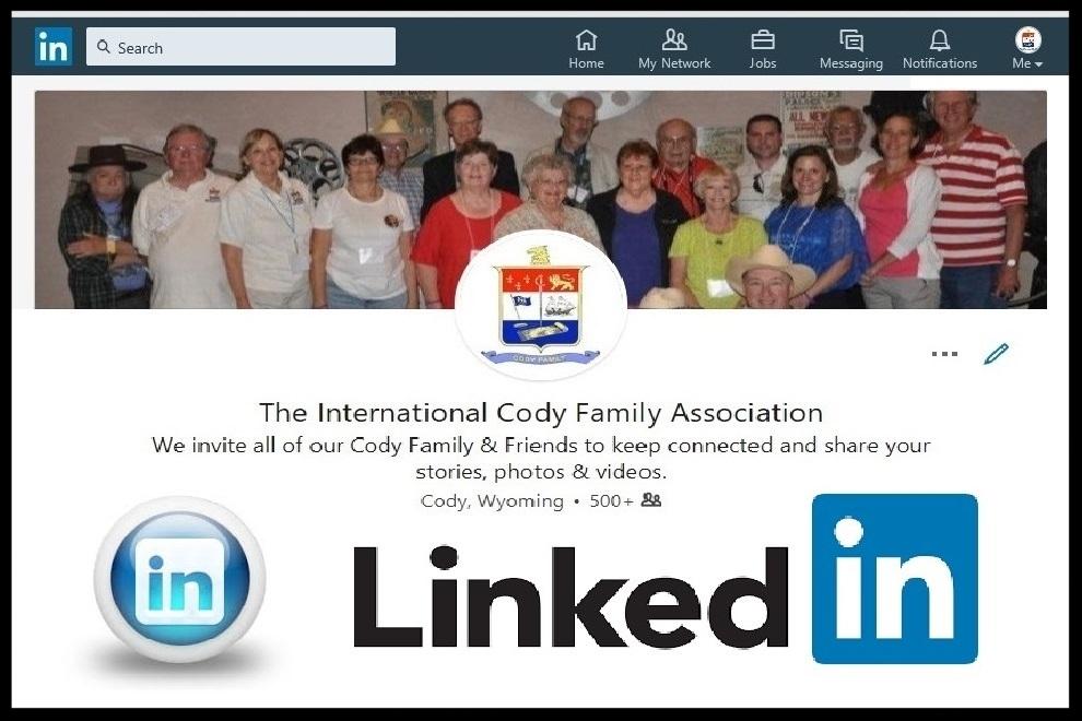 International Cody Family Association's LinkedIn Page