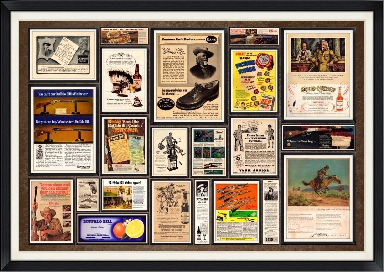 Magazine Advertisements/Ads, Endorsements & Labels