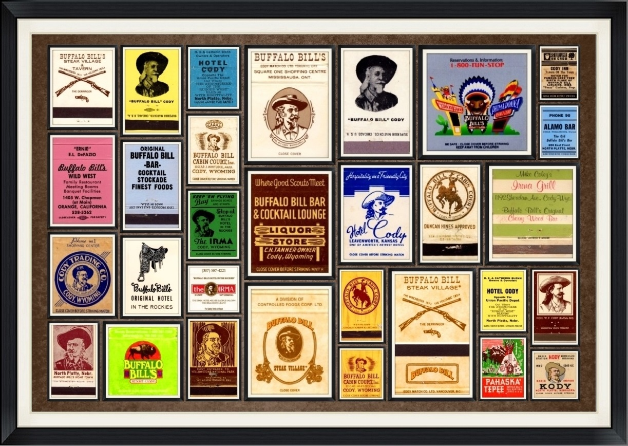Promotional, Business, Logo, Ad Matchbook Covers