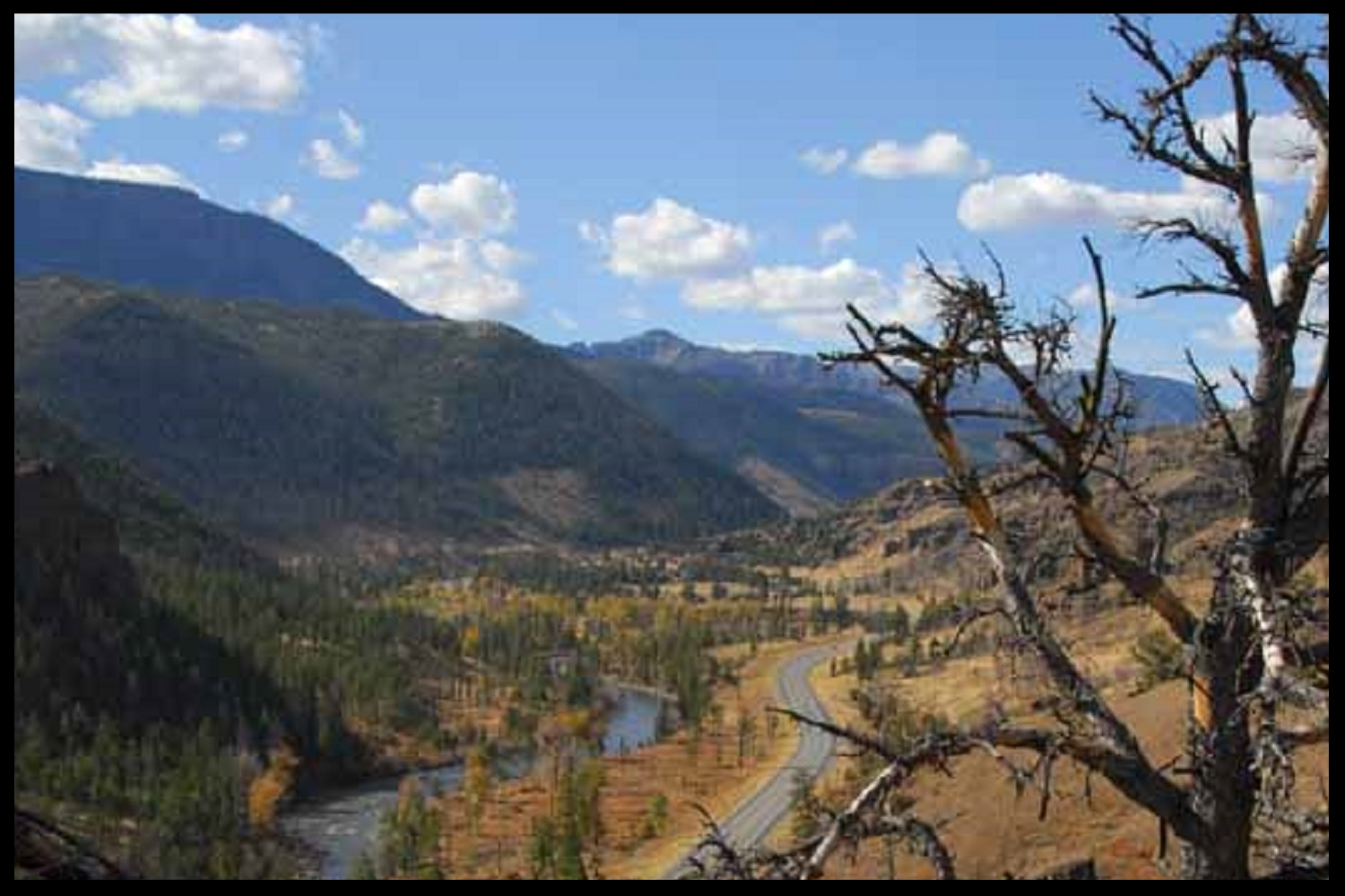 Buffalo Bill Scenic Byway (Shoshone National Forest, WY)
