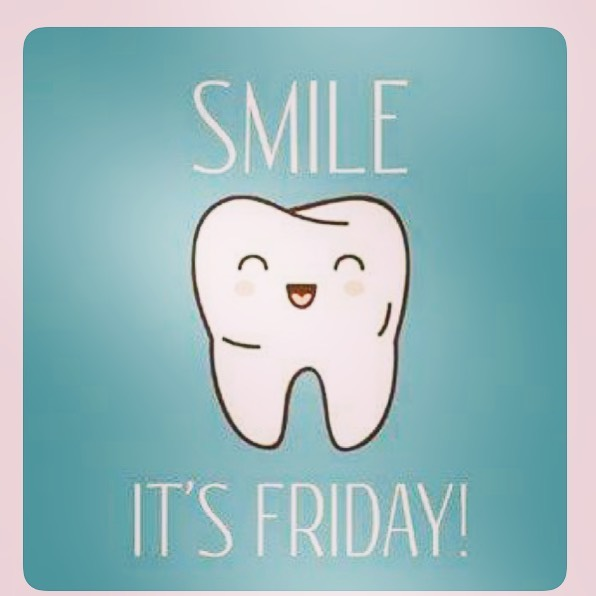 TGIF! Hope everyone had a great week.  #smileorangecounty #dentistry #rda #generaldentistry dentistry #extractions #implantsurgery #southorangecounty #orangecounty #dds #weekend #friday #tooth #teeth #decay #cosmeticdentistry