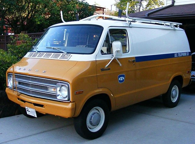 Flash Back Friday. Everything usually seems older in black and white but this Dodge van you can tell it's older! Did you or a parent drive on of these? . . . . #Plan #Post #Communicate #Thrive #FYI #FYIGUYS #FYITW #Canada #BritishColumbia #BC #Vancouver #BestCoast #WestCoast #Automobile #Marketing #SocialMedia #Cars #Trucks #Reputation #Manage #Throwback #FBF #Friday #FlashBackFriday #VintageFridays #Dodge #1974 #To #1977