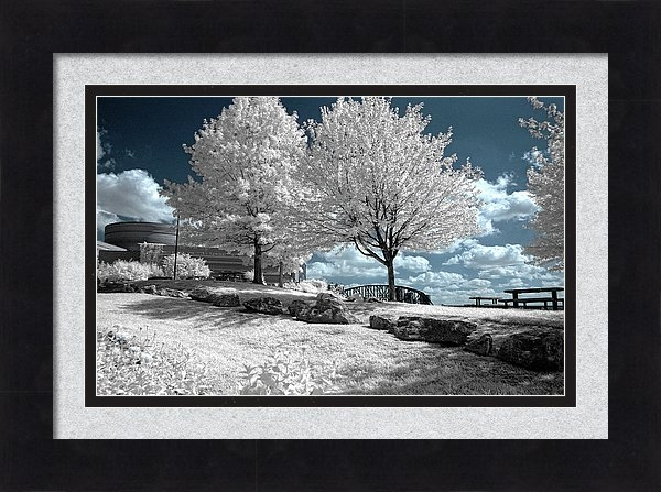 Falls Of The Ohio State Park in Infrared