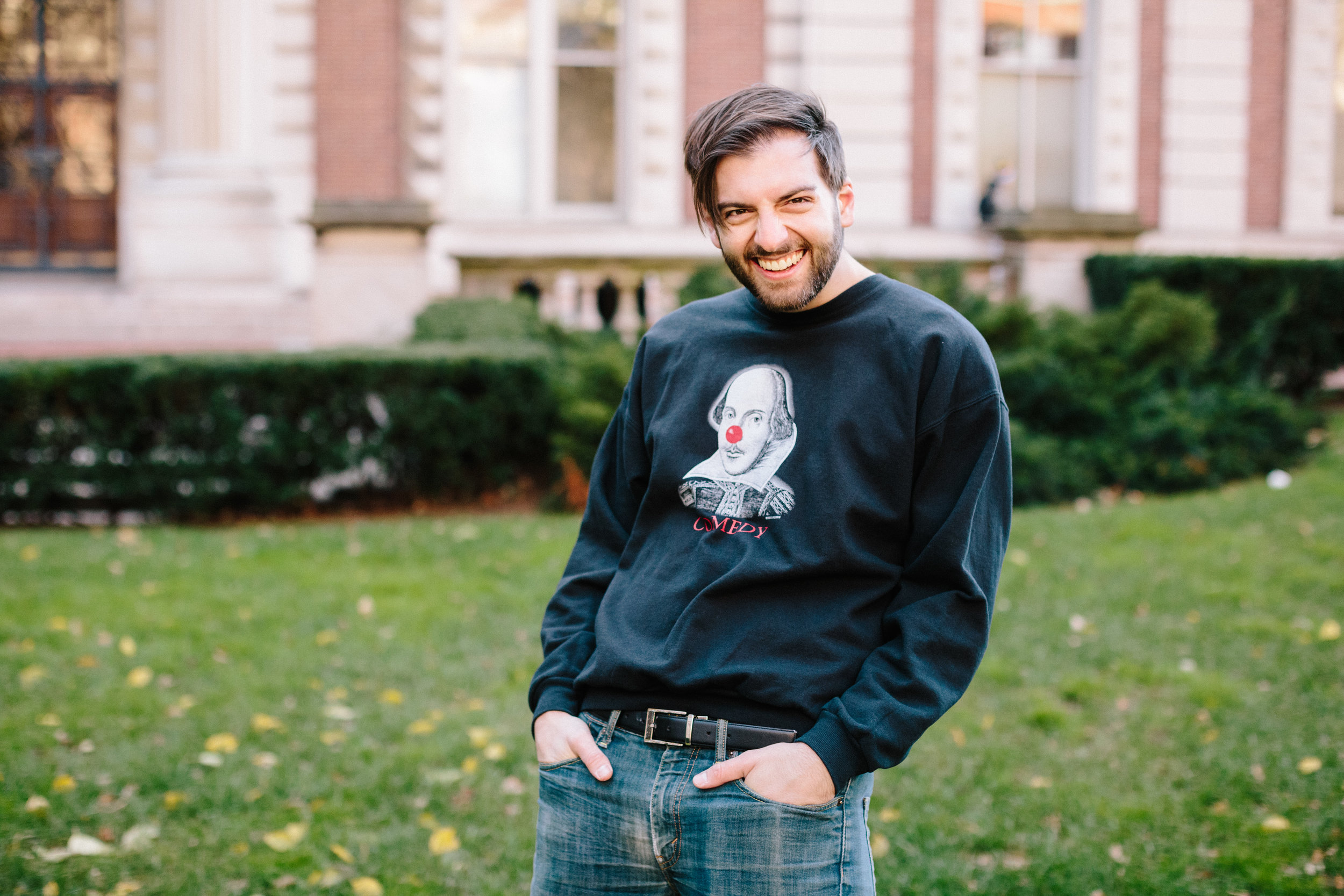 Brad likes to do it all - Whether on stage or behind the scenes, whether by land or by sea, Brad has enjoyed a varied career in the performing arts and entertainment industries. His wide experiences range from classical opera, to musical theatre, to contemporary plays, and to plenty more in between. A world traveler, theatre misfit, nerd, and enthusiast, he balances the disciplines of singing, acting, writing, directing, and producing…and kicking virtual butt at Smash Brothers…