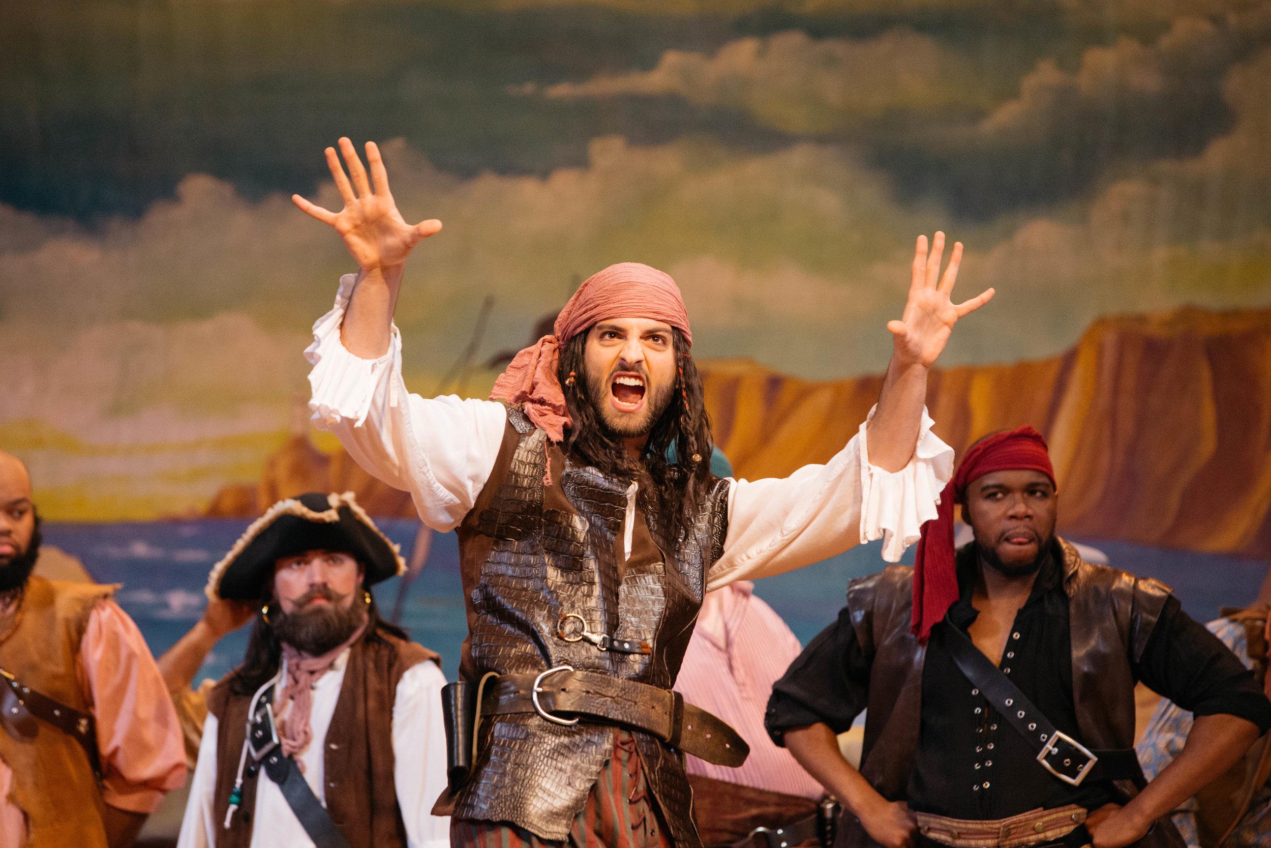 The Pirate King (photo by Ziggy Mack)