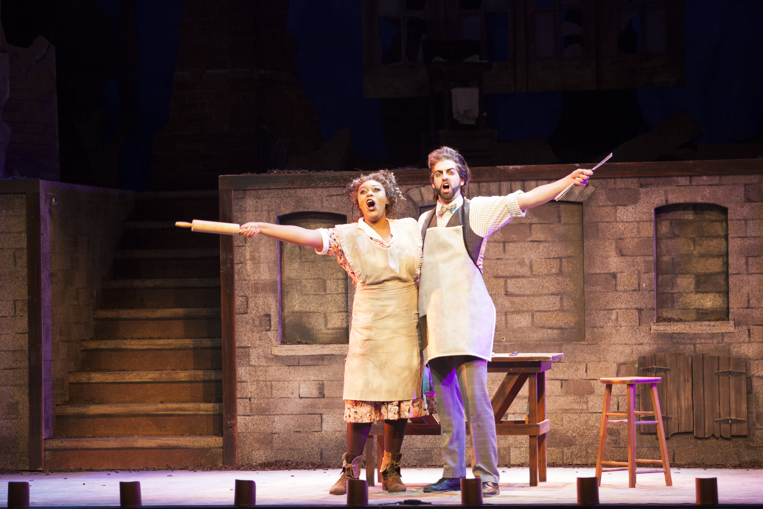Sweeney Todd, with Zoie Reams